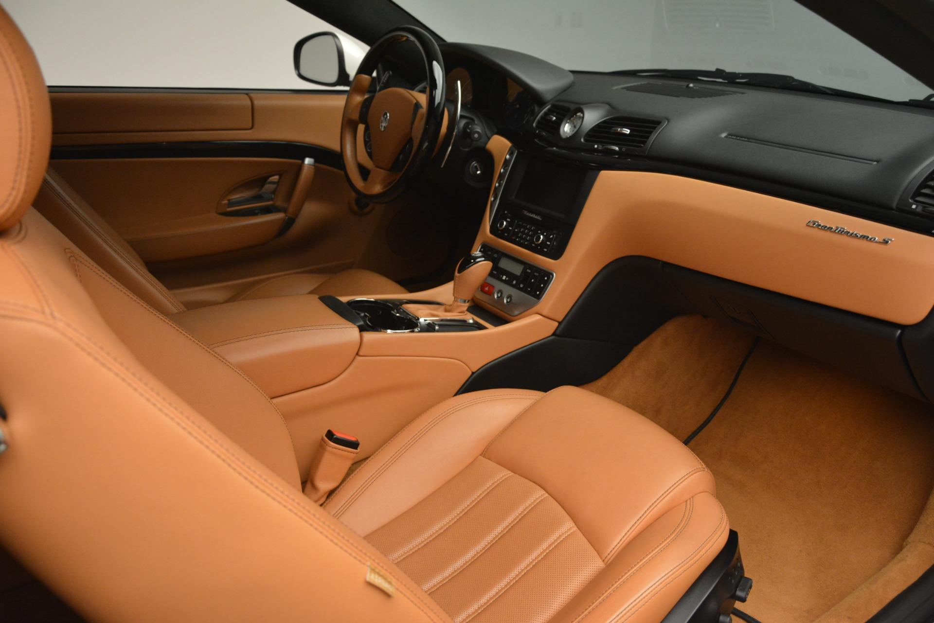 Used 2011 Maserati GranTurismo S Automatic For Sale $49900 In Greenwich, CT 3061_p16