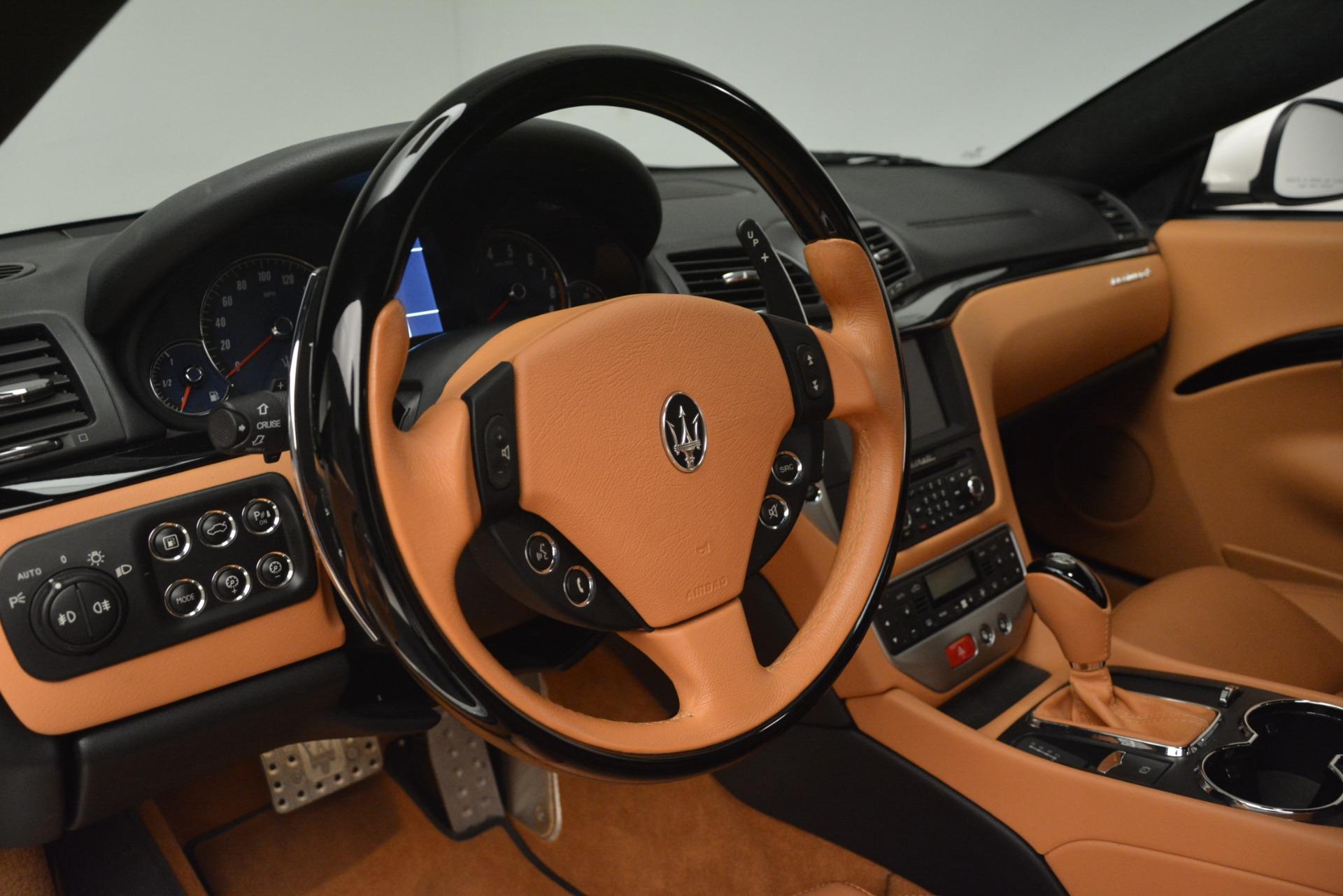 Used 2011 Maserati GranTurismo S Automatic For Sale $49900 In Greenwich, CT 3061_p19