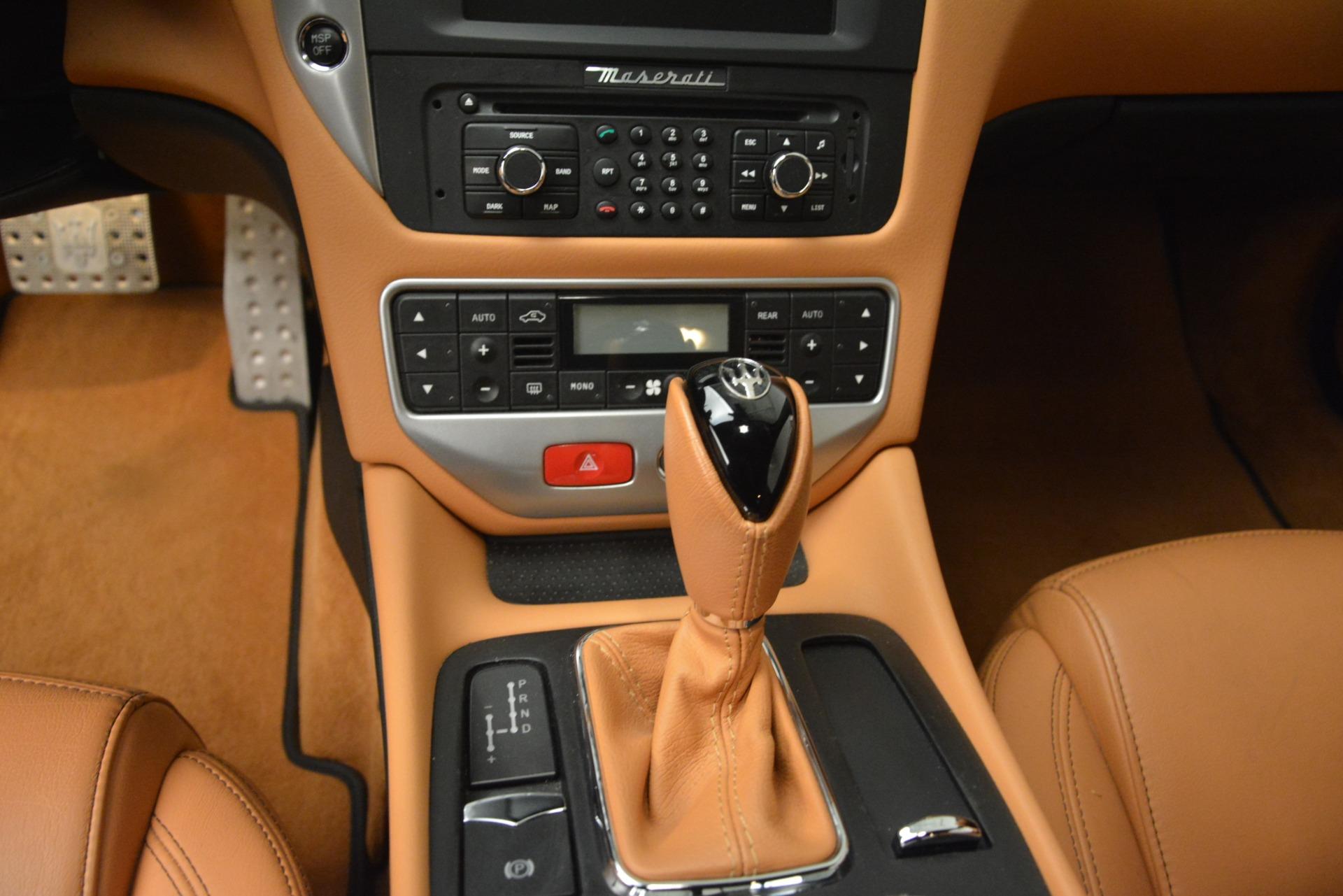 Used 2011 Maserati GranTurismo S Automatic For Sale $49900 In Greenwich, CT 3061_p20