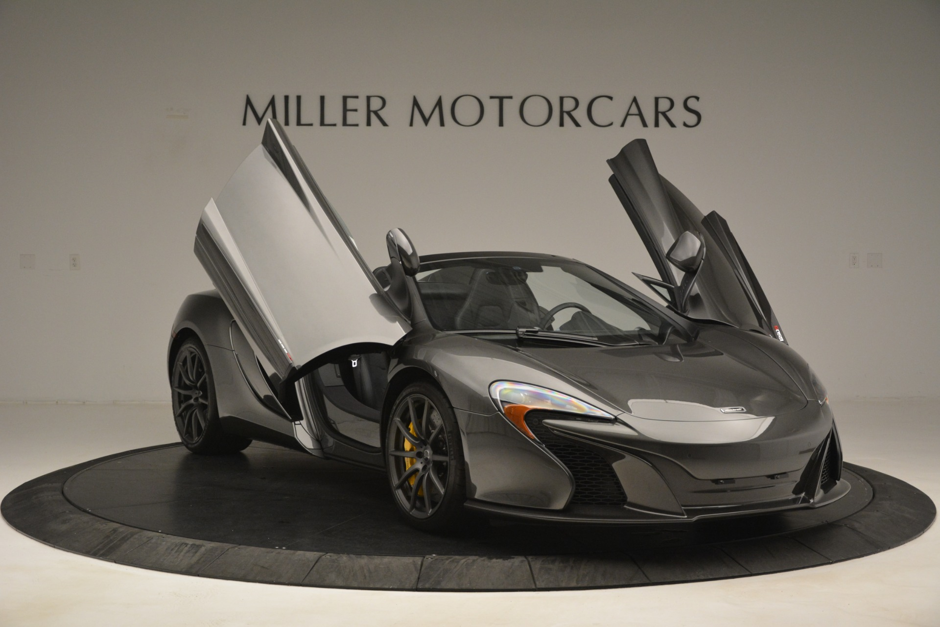 Used 2016 McLaren 650S Spider Convertible For Sale $0 In Greenwich, CT 3062_p12