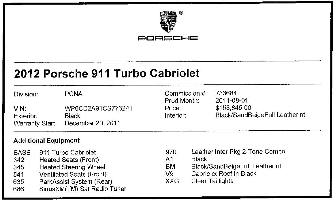 Used 2012 Porsche 911 Turbo For Sale In Greenwich, CT. Alfa Romeo of Greenwich, 7540 3063_p28