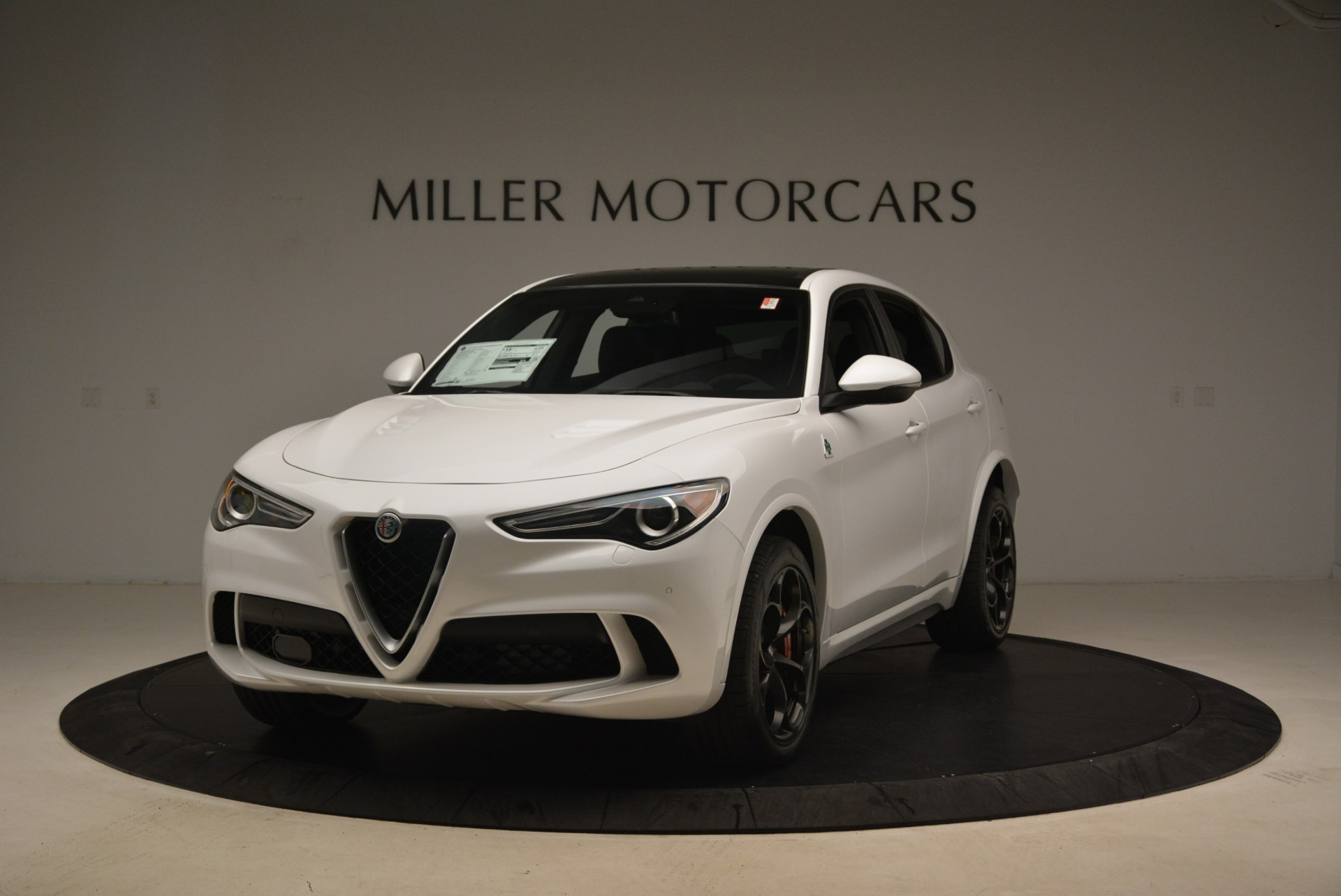 New 2019 Alfa Romeo Stelvio Quadrifoglio For Sale In Greenwich, CT. Alfa Romeo of Greenwich, L598 3065_main