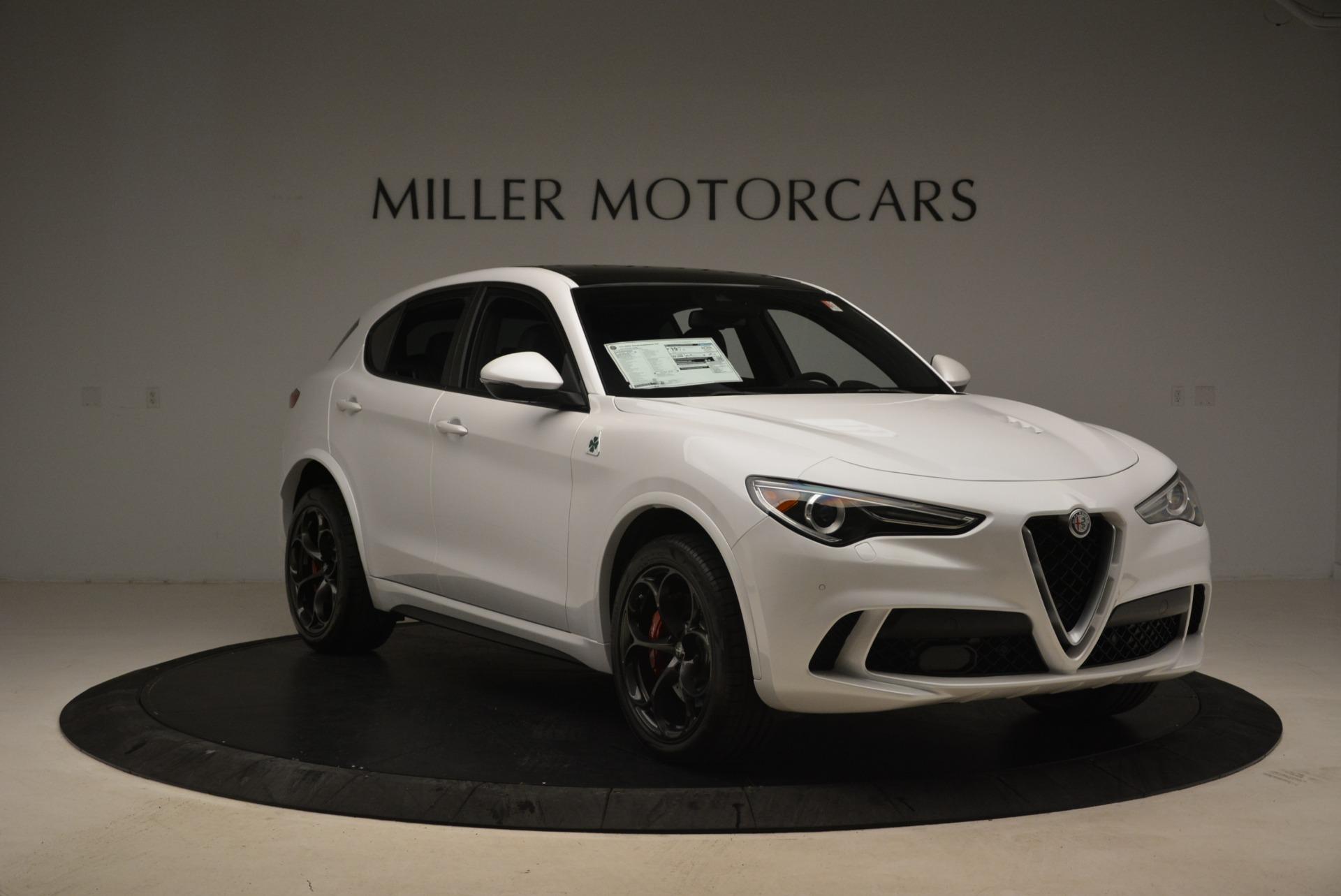 New 2019 Alfa Romeo Stelvio Quadrifoglio For Sale $87790 In Greenwich, CT 3065_p12