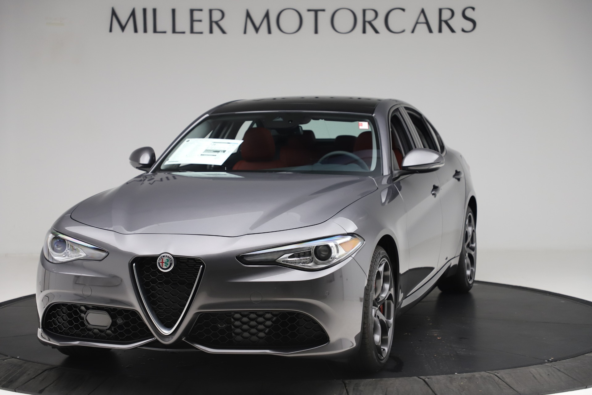 New 2019 Alfa Romeo Giulia Ti Sport Q4 For Sale In Greenwich, CT. Alfa Romeo of Greenwich, L605 3074_main