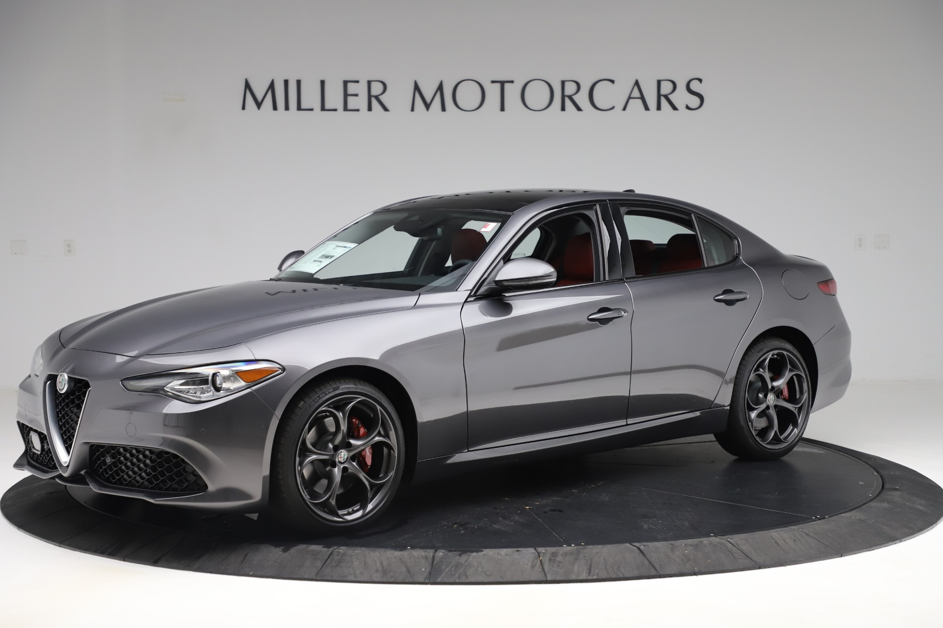 New 2019 Alfa Romeo Giulia Ti Sport Q4 For Sale In Greenwich, CT. Alfa Romeo of Greenwich, L605 3074_p2