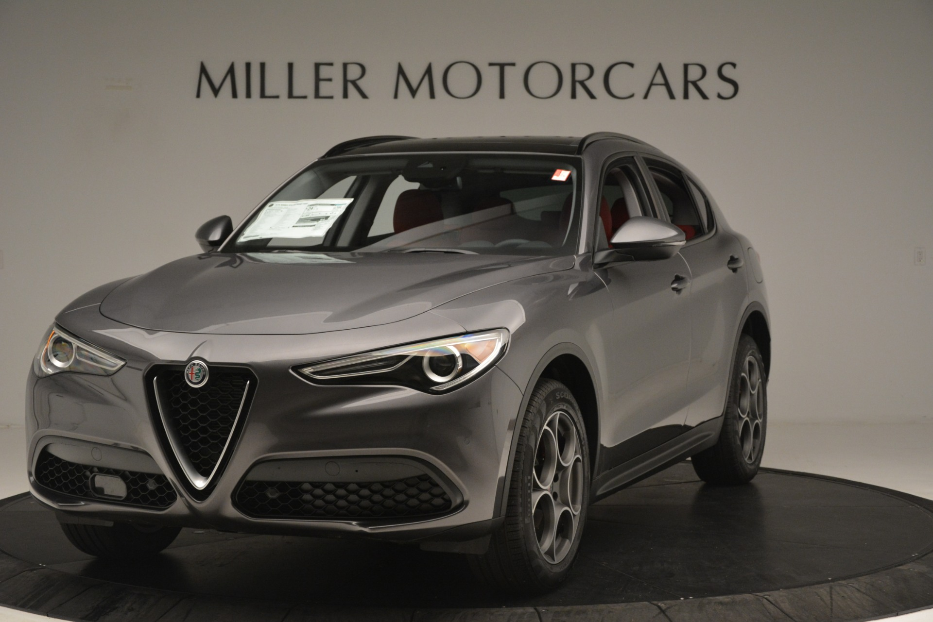New 2019 Alfa Romeo Stelvio Sport Q4 For Sale In Greenwich, CT. Alfa Romeo of Greenwich, L606 3075_main