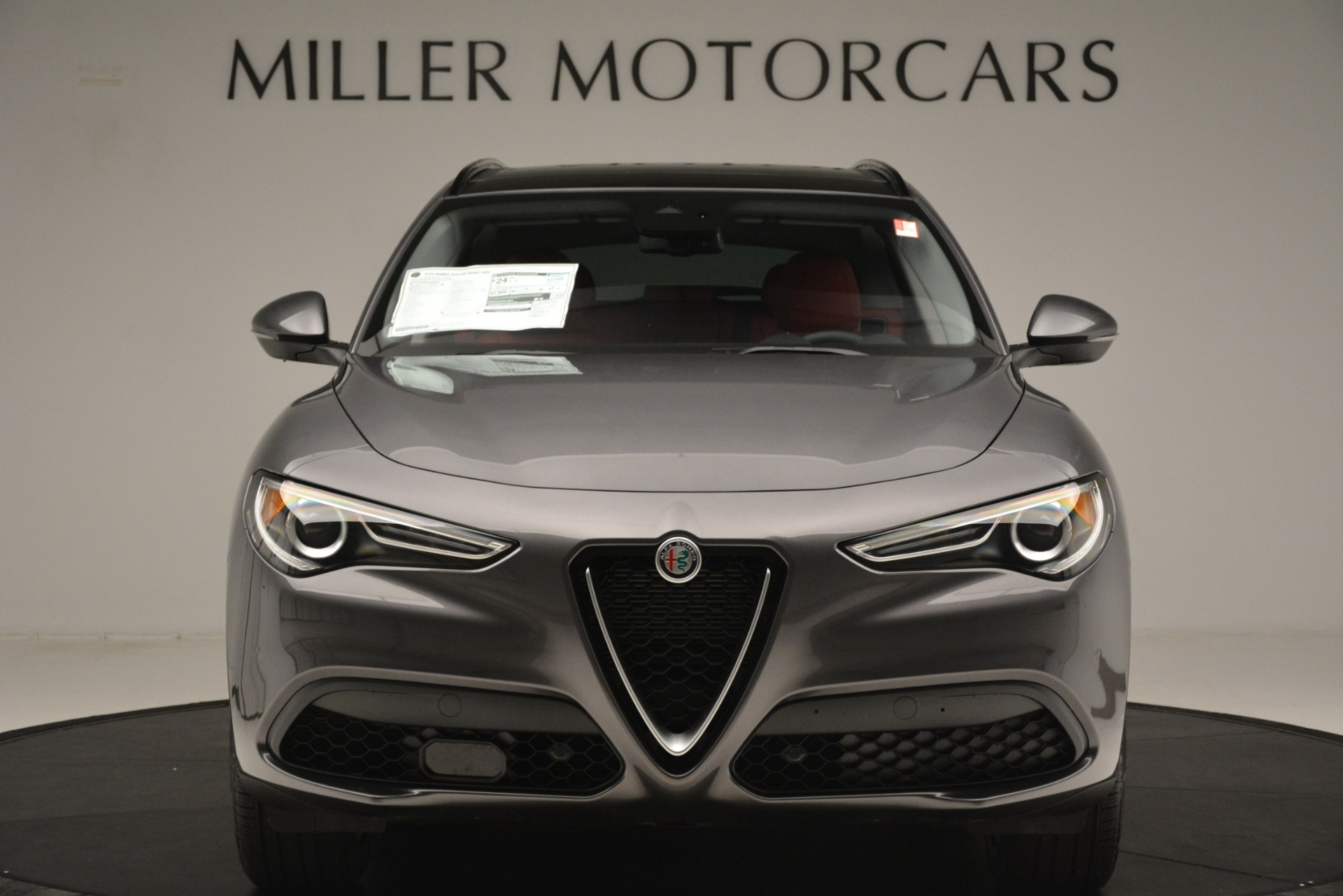New 2019 Alfa Romeo Stelvio Sport Q4 For Sale In Greenwich, CT. Alfa Romeo of Greenwich, L606 3075_p12