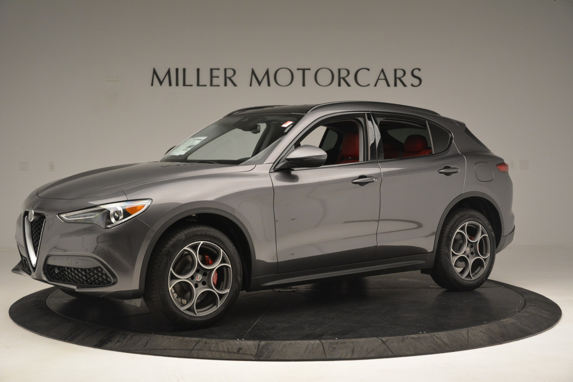 New 2019 Alfa Romeo Stelvio Sport Q4 For Sale In Greenwich, CT. Alfa Romeo of Greenwich, L606 3075_p2