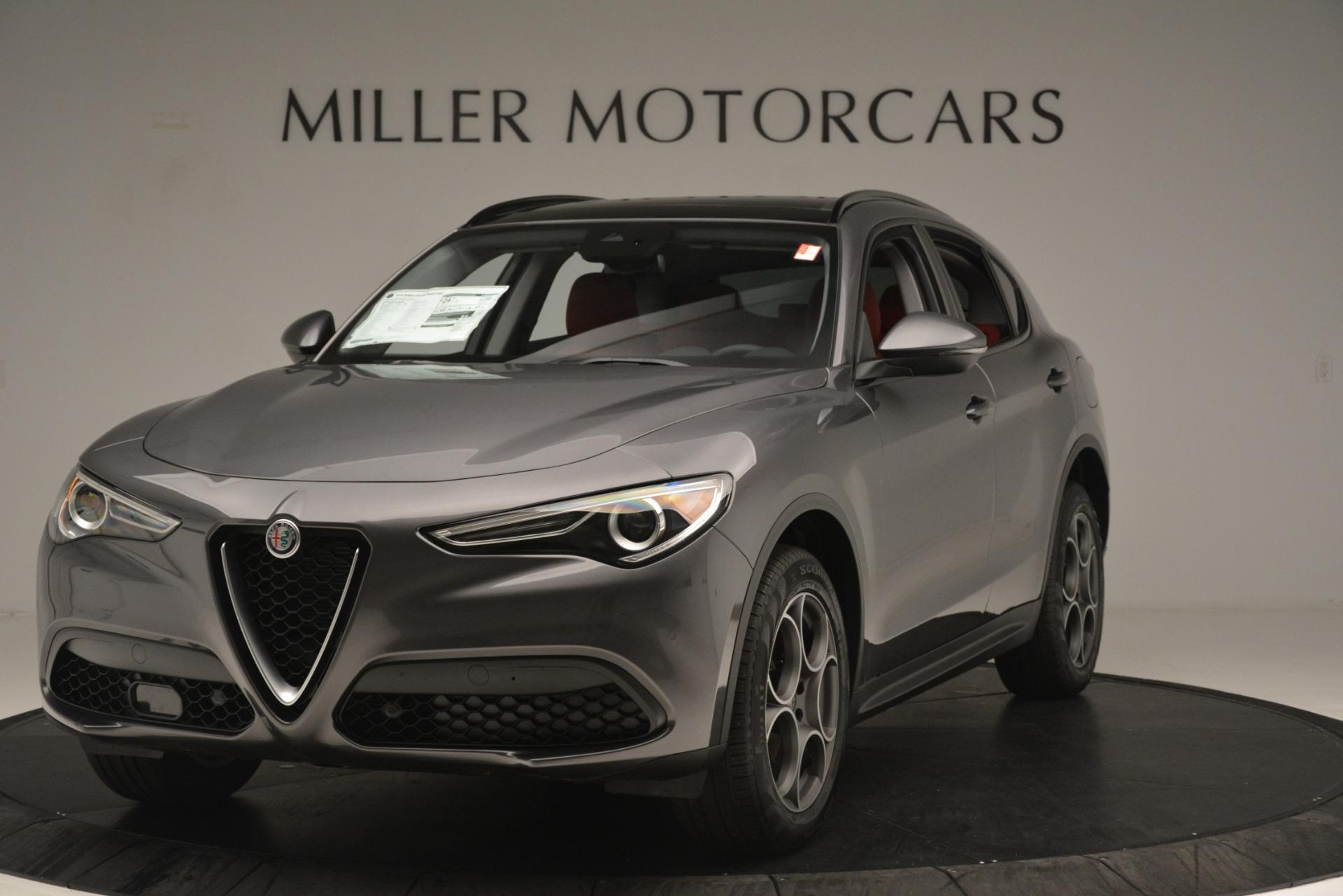 New 2019 Alfa Romeo Stelvio Sport Q4 For Sale In Greenwich, CT. Alfa Romeo of Greenwich, L607 3076_main