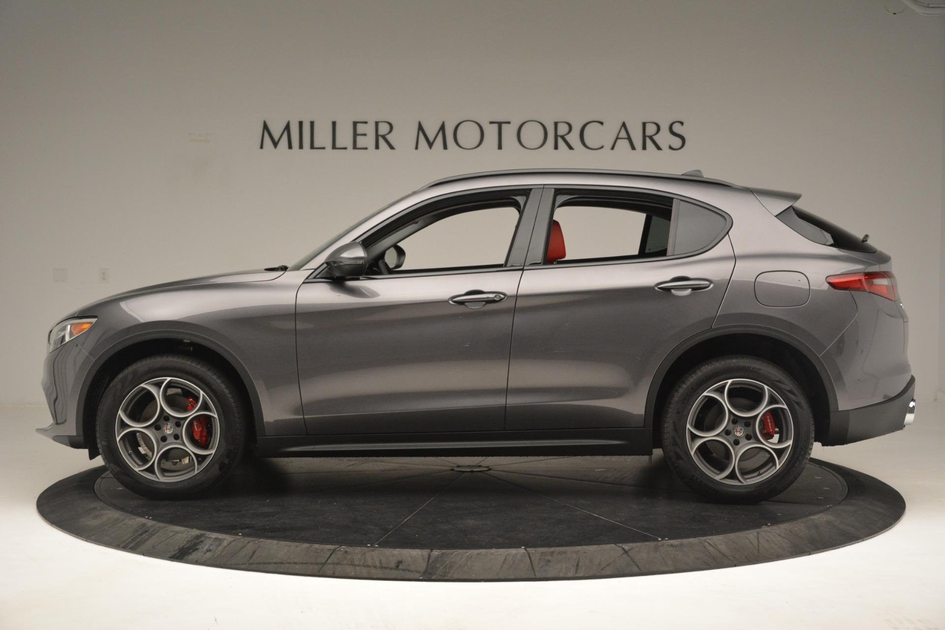 New 2019 Alfa Romeo Stelvio Sport Q4 For Sale In Greenwich, CT. Alfa Romeo of Greenwich, L607 3076_p3