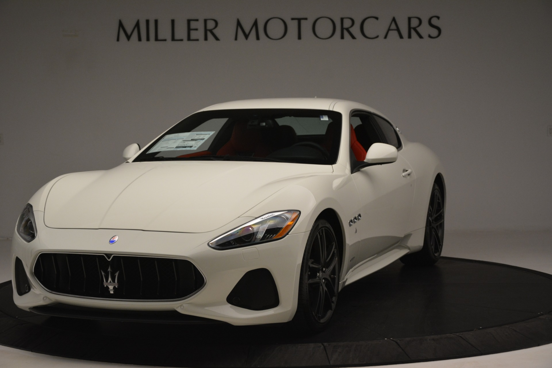 New 2018 Maserati GranTurismo Sport For Sale In Greenwich, CT. Alfa Romeo of Greenwich, W680 3083_main