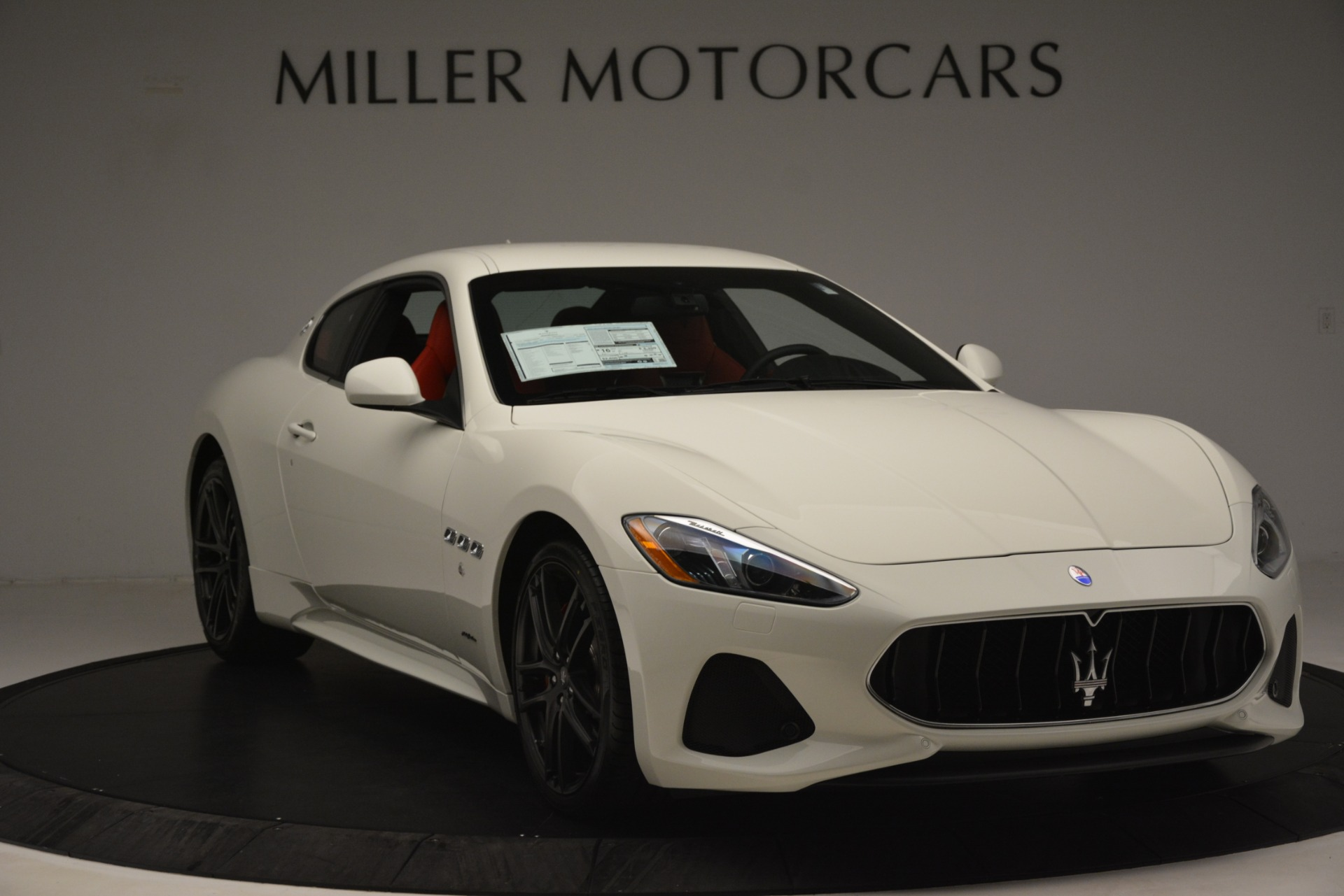 New 2018 Maserati GranTurismo Sport For Sale In Greenwich, CT. Alfa Romeo of Greenwich, W680 3083_p11