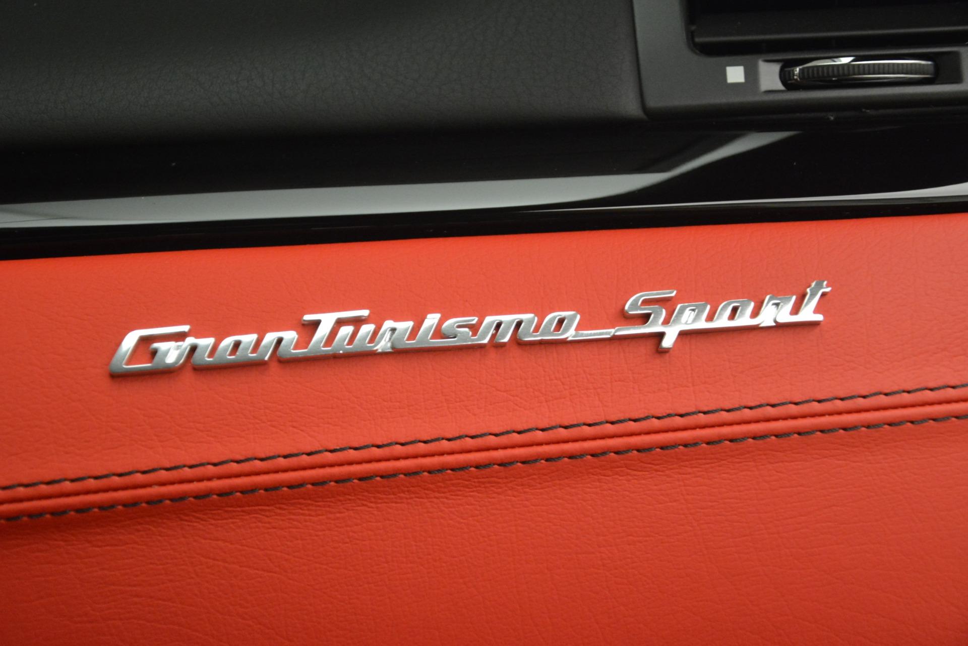 New 2018 Maserati GranTurismo Sport For Sale In Greenwich, CT. Alfa Romeo of Greenwich, W680 3083_p25