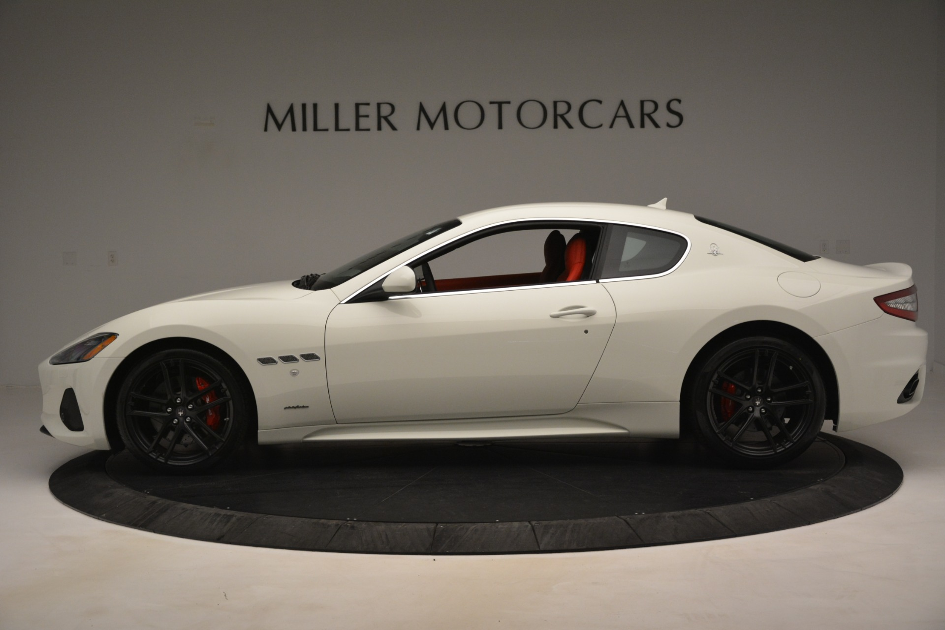 New 2018 Maserati GranTurismo Sport For Sale In Greenwich, CT. Alfa Romeo of Greenwich, W680 3083_p3
