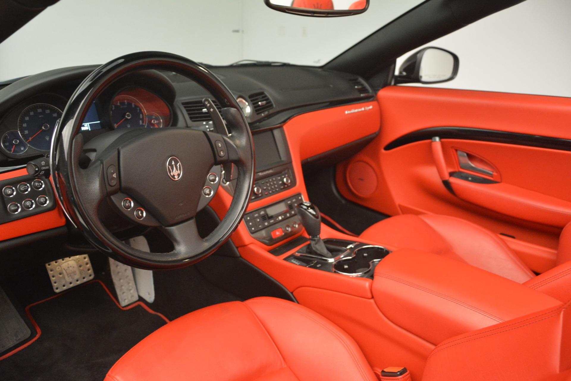 Used 2015 Maserati GranTurismo Sport For Sale In Greenwich, CT. Alfa Romeo of Greenwich, 7532 3085_p25