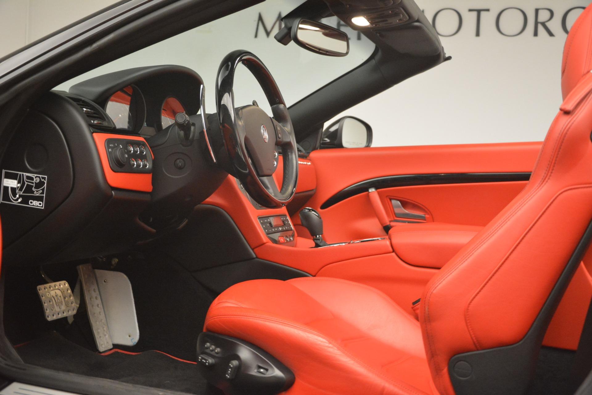 Used 2015 Maserati GranTurismo Sport For Sale In Greenwich, CT. Alfa Romeo of Greenwich, 7532 3085_p26