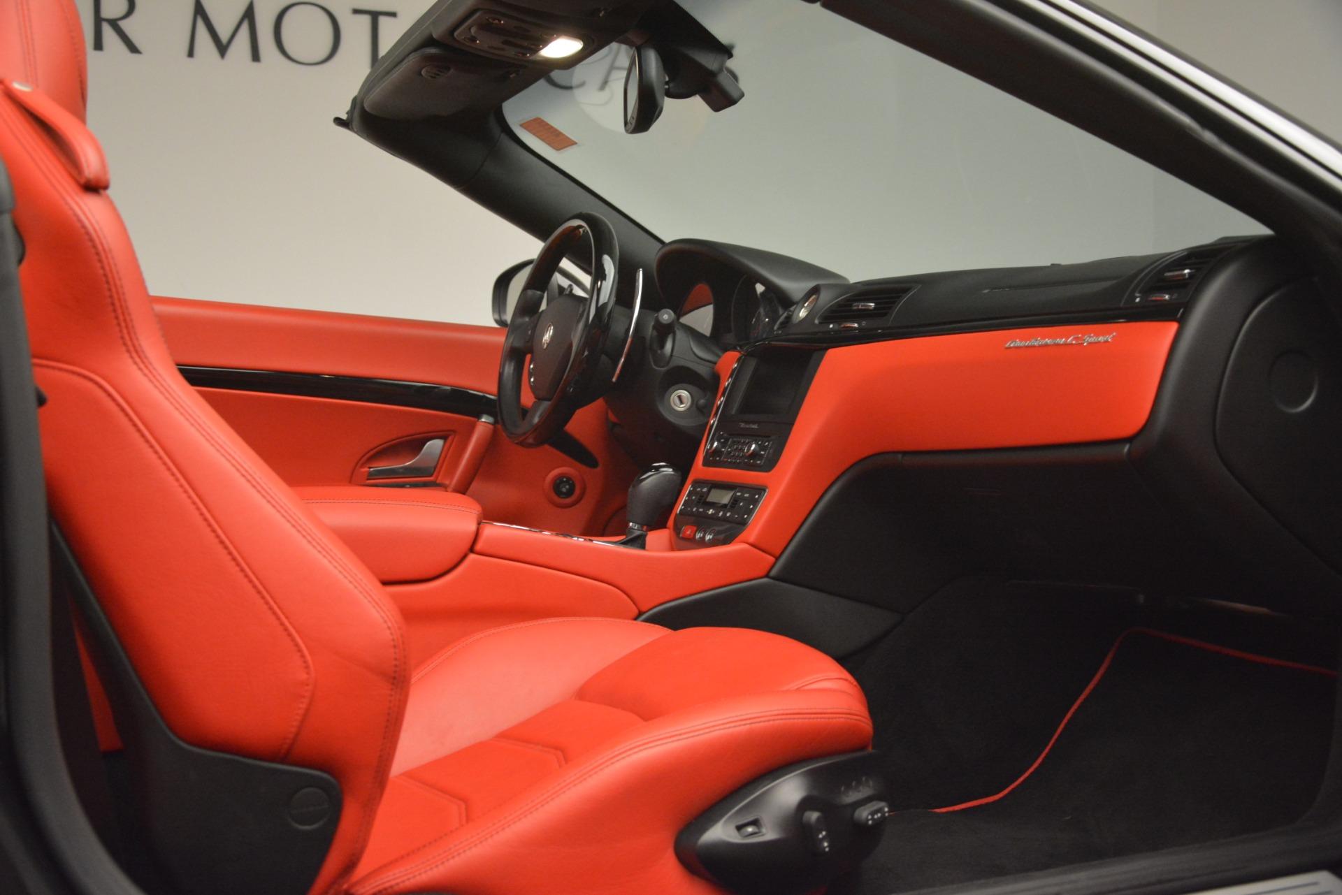 Used 2015 Maserati GranTurismo Sport For Sale In Greenwich, CT. Alfa Romeo of Greenwich, 7532 3085_p34