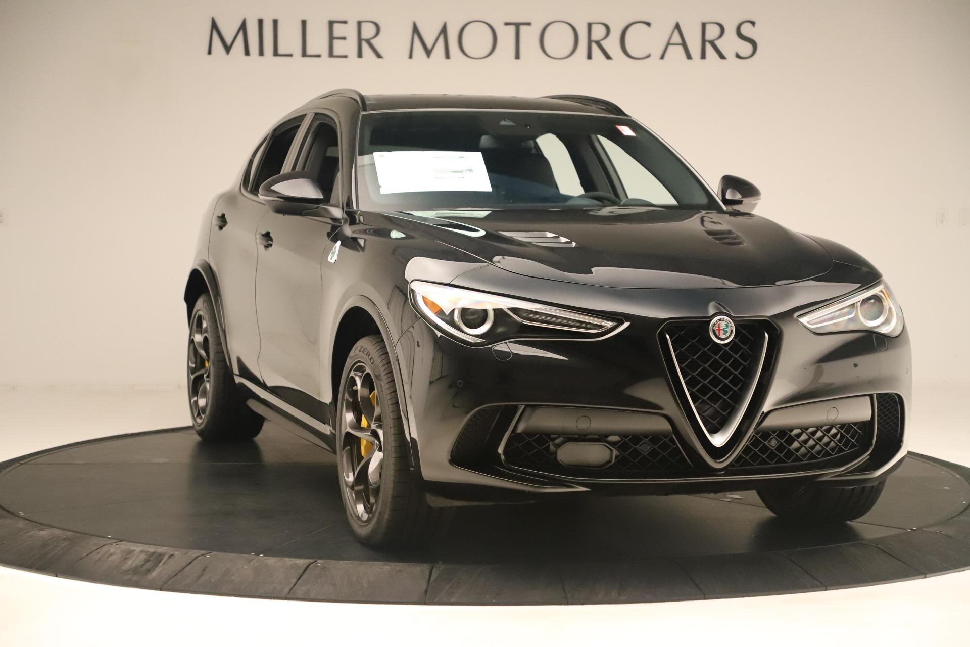 New 2019 Alfa Romeo Stelvio Quadrifoglio For Sale In Greenwich, CT. Alfa Romeo of Greenwich, LW323 3093_p11