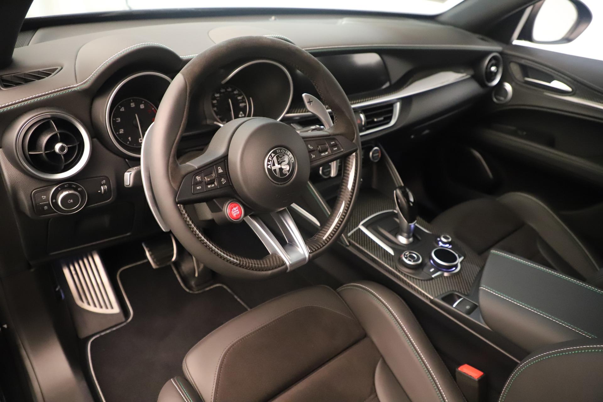New 2019 Alfa Romeo Stelvio Quadrifoglio For Sale In Greenwich, CT. Alfa Romeo of Greenwich, LW323 3093_p13