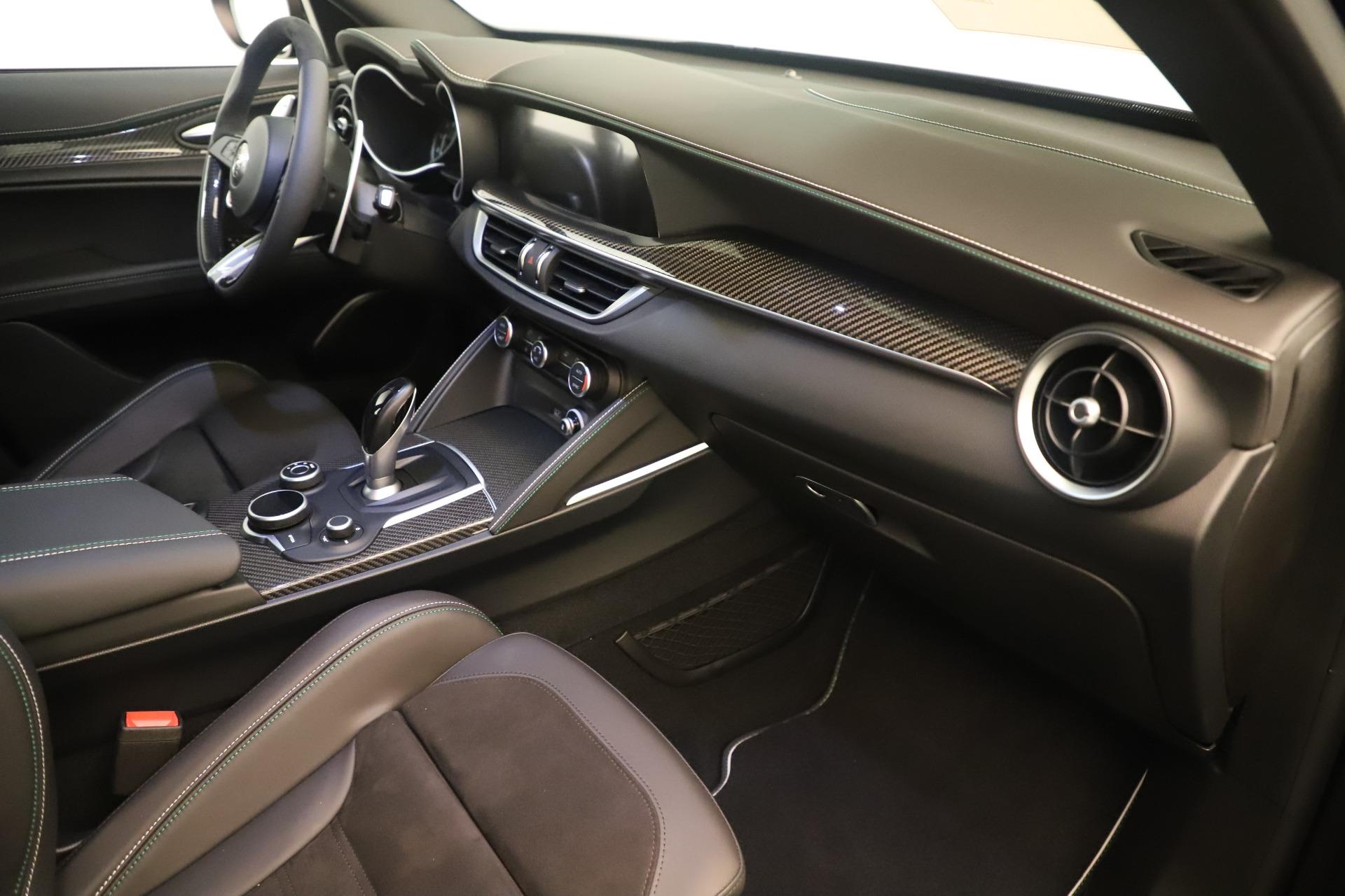 New 2019 Alfa Romeo Stelvio Quadrifoglio For Sale In Greenwich, CT. Alfa Romeo of Greenwich, LW323 3093_p22