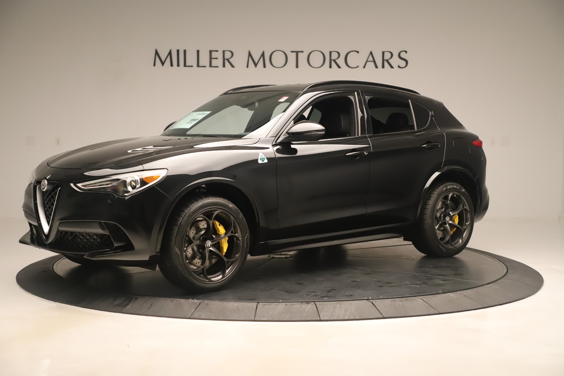 New 2019 Alfa Romeo Stelvio Quadrifoglio For Sale In Greenwich, CT. Alfa Romeo of Greenwich, LW323 3093_p2
