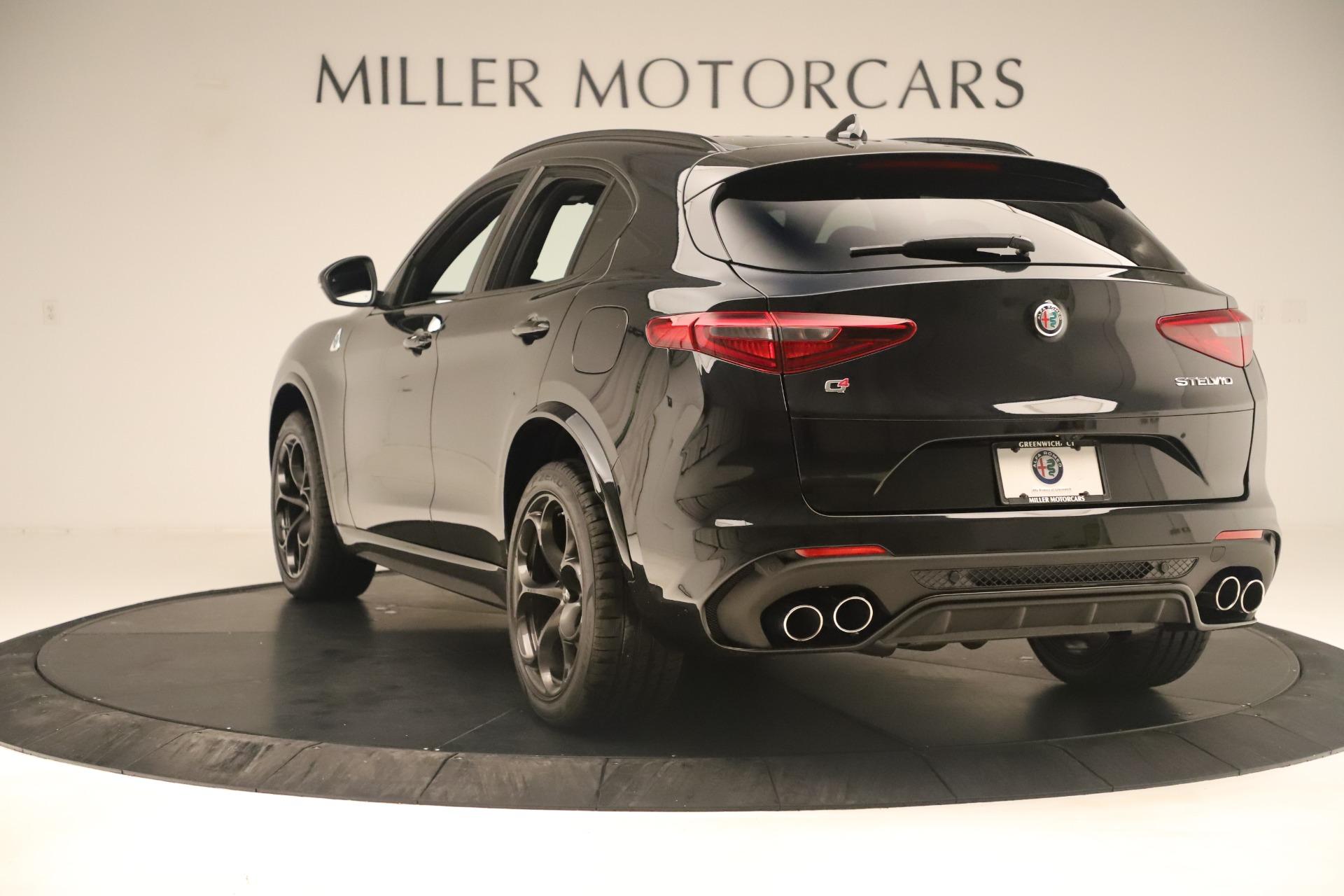 New 2019 Alfa Romeo Stelvio Quadrifoglio For Sale In Greenwich, CT. Alfa Romeo of Greenwich, LW323 3093_p5