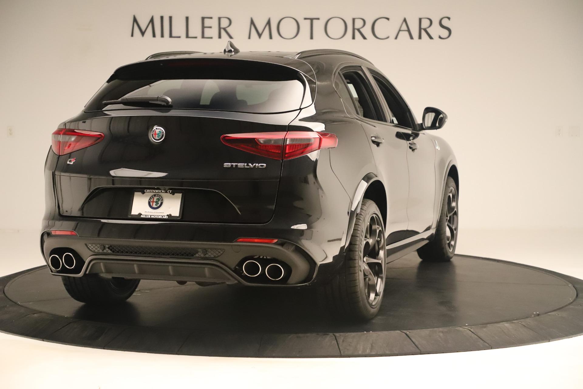 New 2019 Alfa Romeo Stelvio Quadrifoglio For Sale In Greenwich, CT. Alfa Romeo of Greenwich, LW323 3093_p7