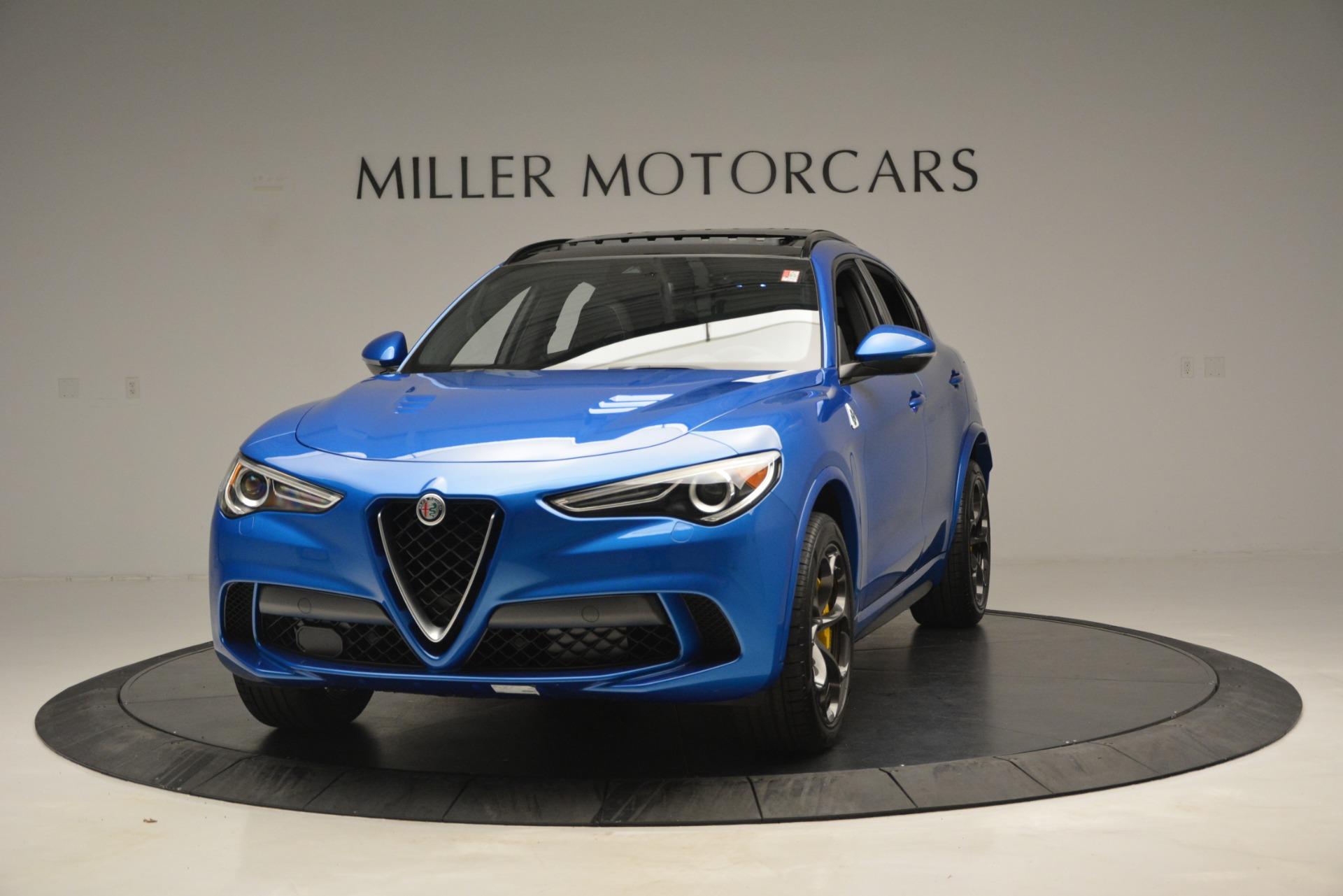 New 2019 Alfa Romeo Stelvio Quadrifoglio For Sale In Greenwich, CT. Alfa Romeo of Greenwich, LW324 3094_main