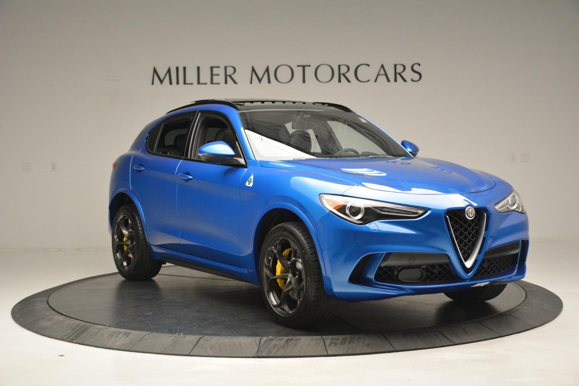 New 2019 Alfa Romeo Stelvio Quadrifoglio For Sale In Greenwich, CT. Alfa Romeo of Greenwich, LW324 3094_p17