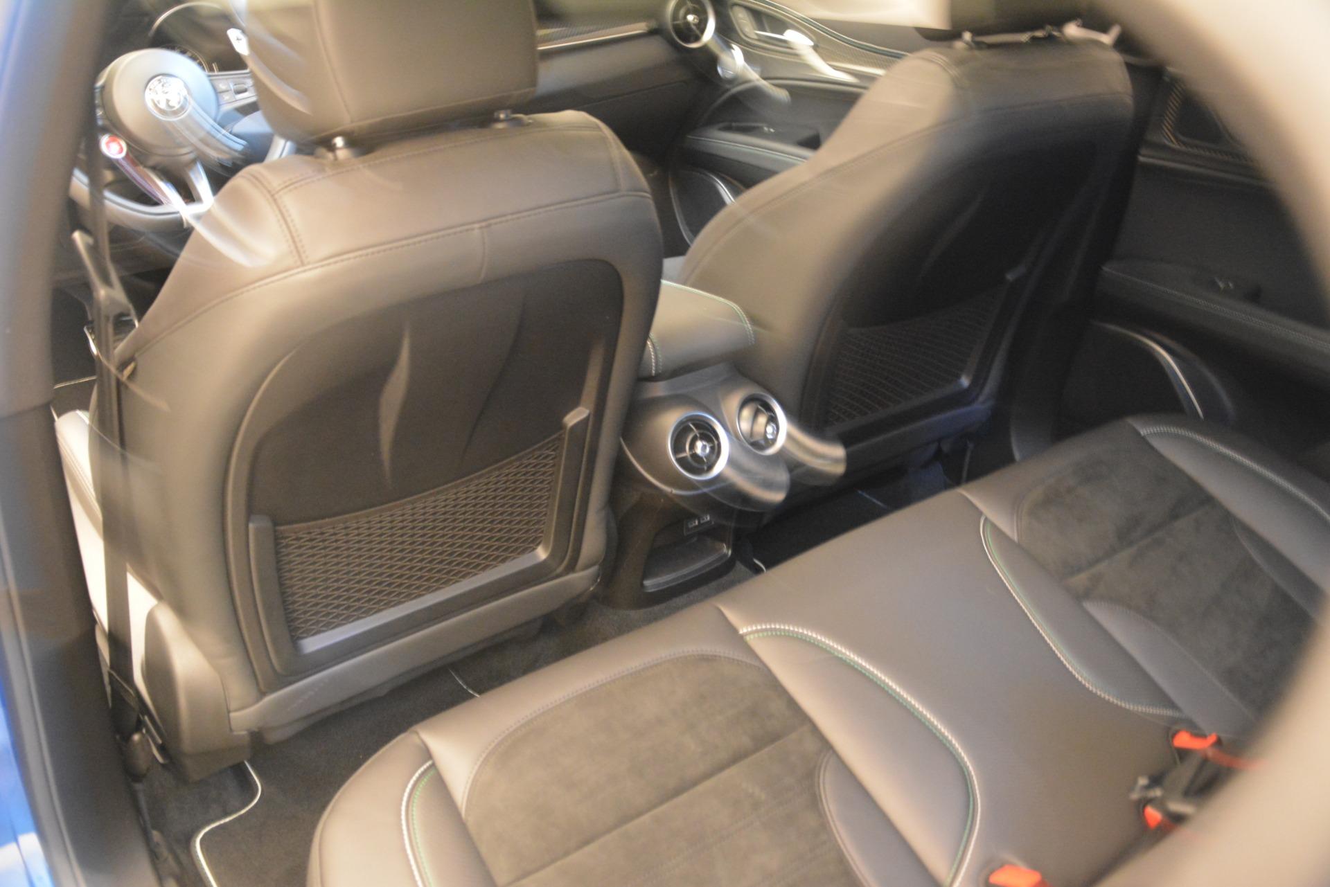 New 2019 Alfa Romeo Stelvio Quadrifoglio For Sale In Greenwich, CT. Alfa Romeo of Greenwich, LW324 3094_p26