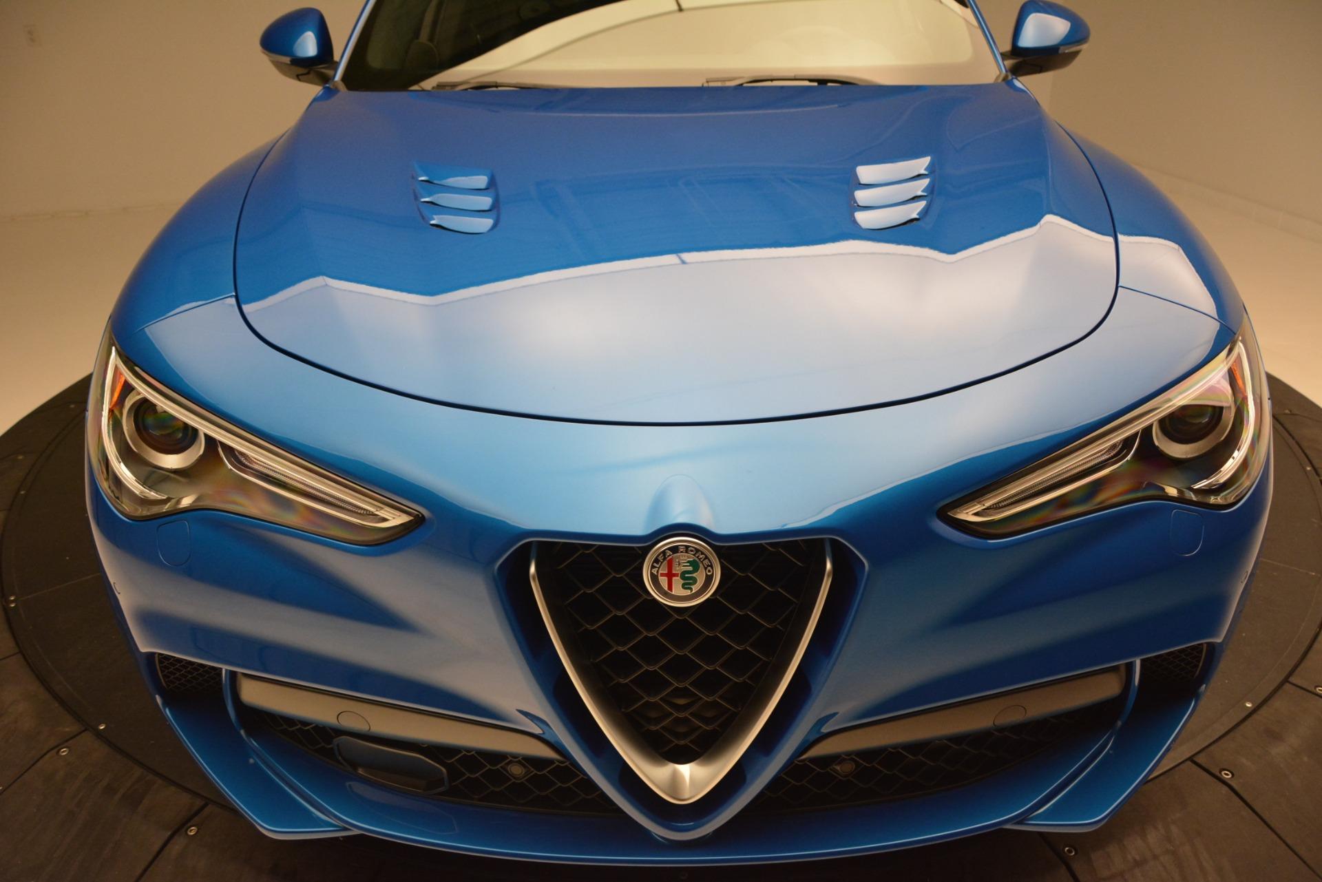 New 2019 Alfa Romeo Stelvio Quadrifoglio For Sale In Greenwich, CT. Alfa Romeo of Greenwich, LW324 3094_p27