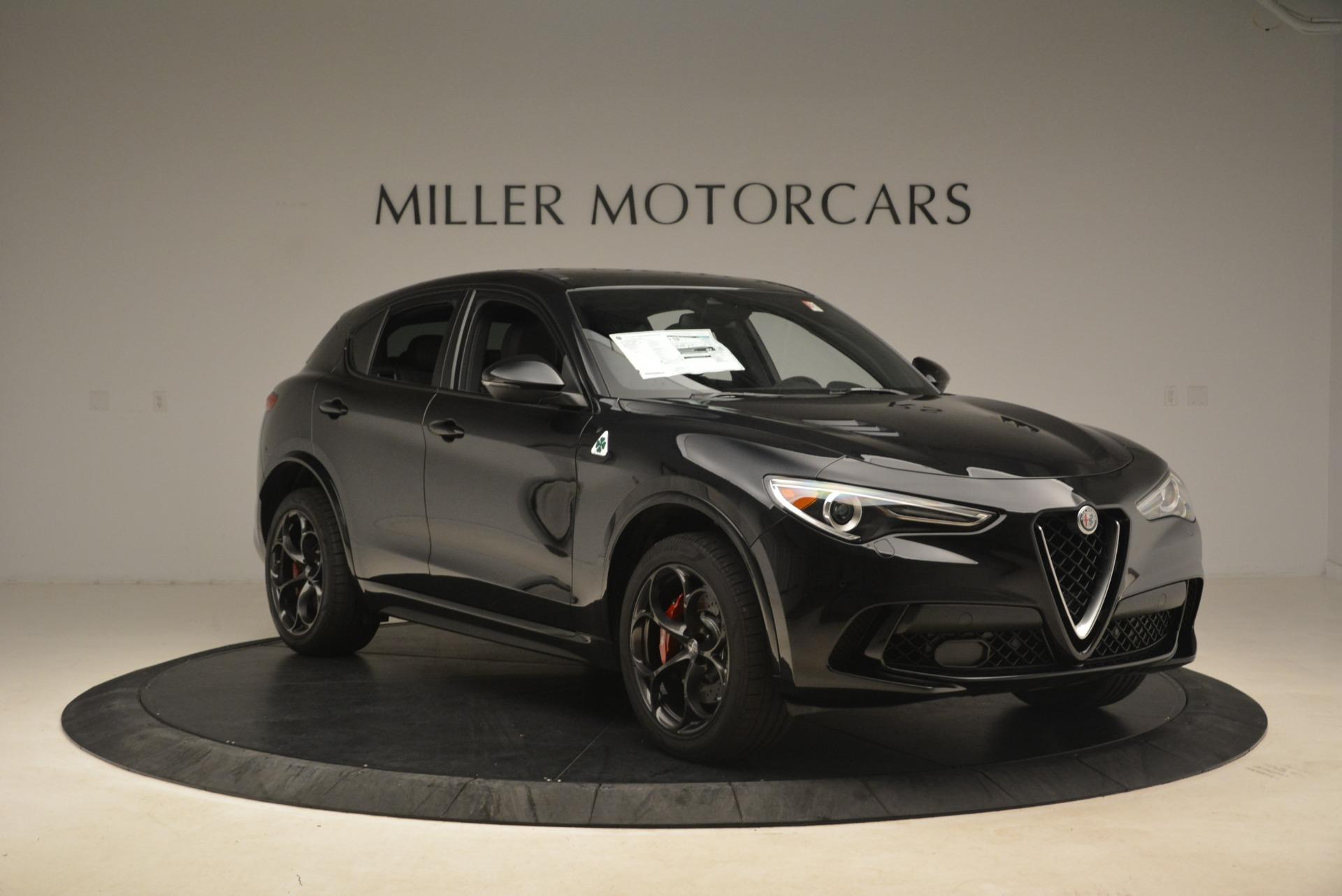 New 2019 Alfa Romeo Stelvio Quadrifoglio For Sale In Greenwich, CT. Alfa Romeo of Greenwich, L608 3095_p11