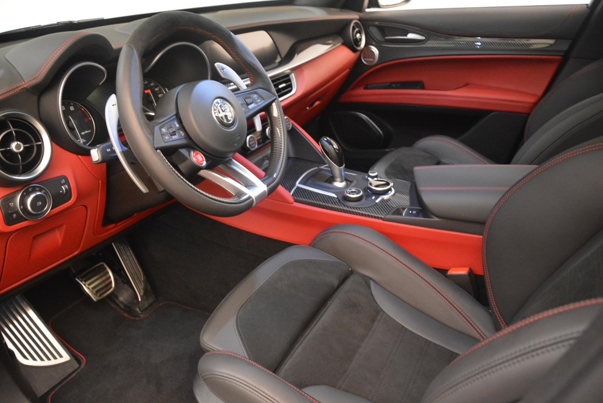 New 2019 Alfa Romeo Stelvio Quadrifoglio For Sale In Greenwich, CT. Alfa Romeo of Greenwich, L608 3095_p13