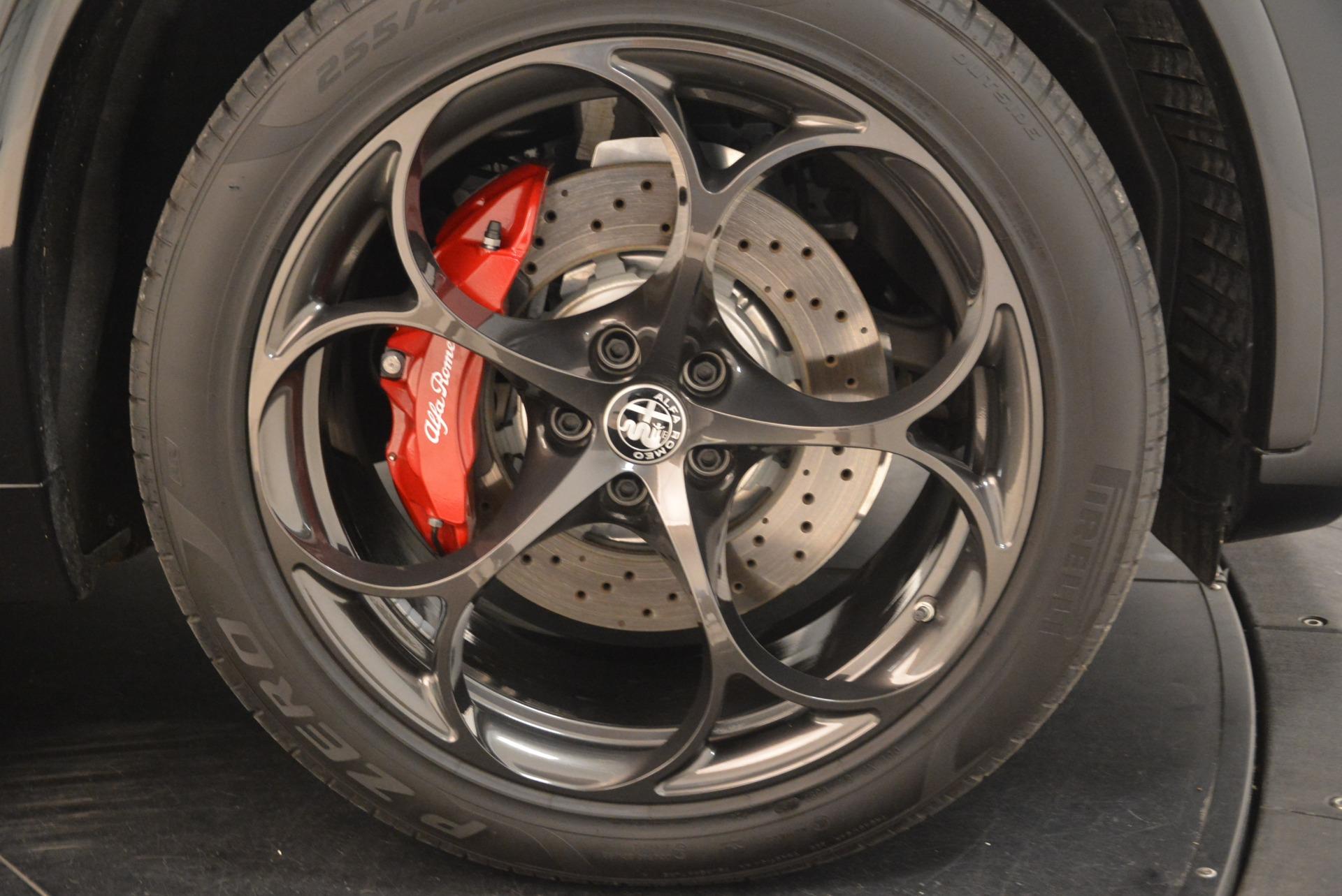 New 2019 Alfa Romeo Stelvio Quadrifoglio For Sale In Greenwich, CT. Alfa Romeo of Greenwich, L608 3095_p25
