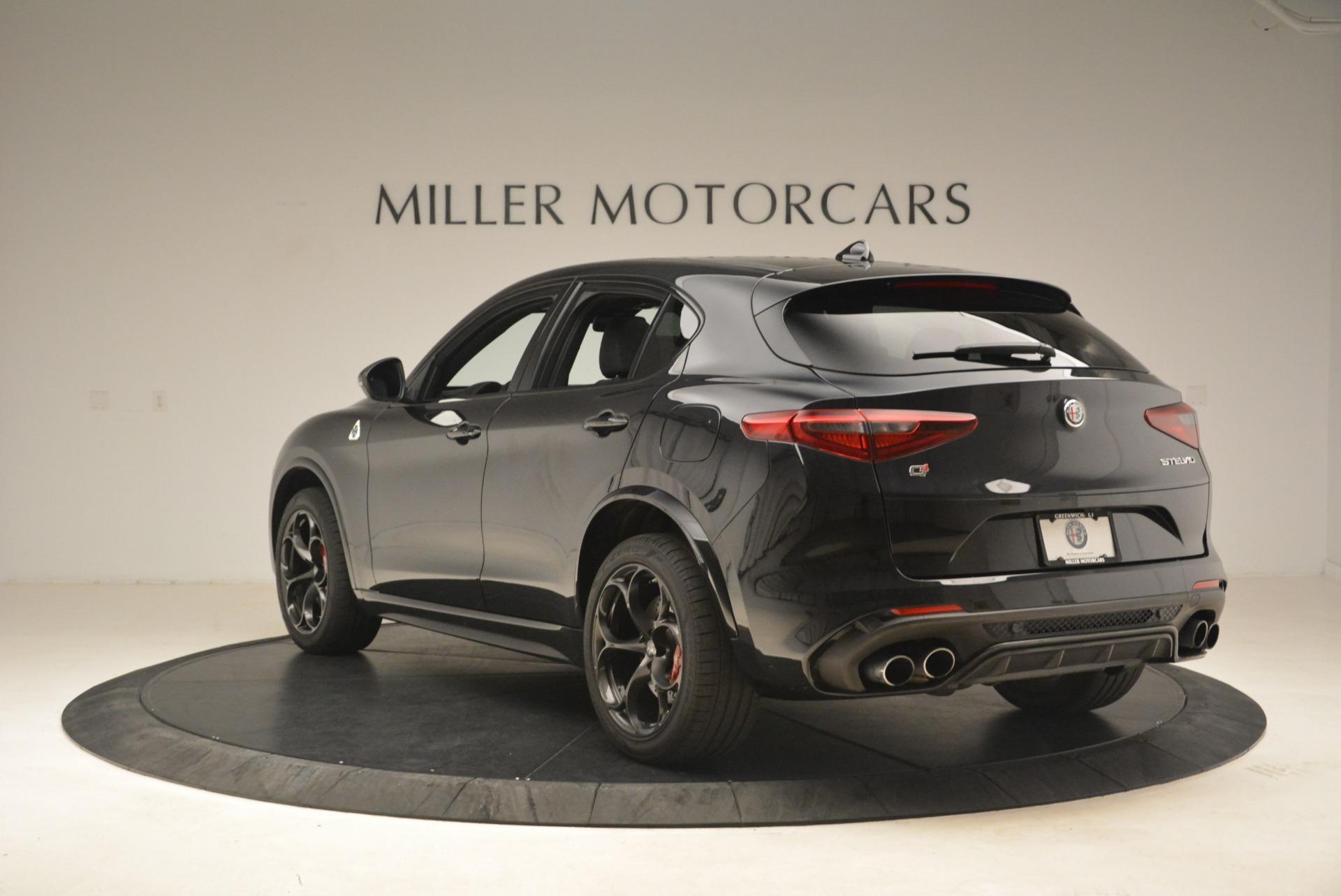 New 2019 Alfa Romeo Stelvio Quadrifoglio For Sale In Greenwich, CT. Alfa Romeo of Greenwich, L608 3095_p5