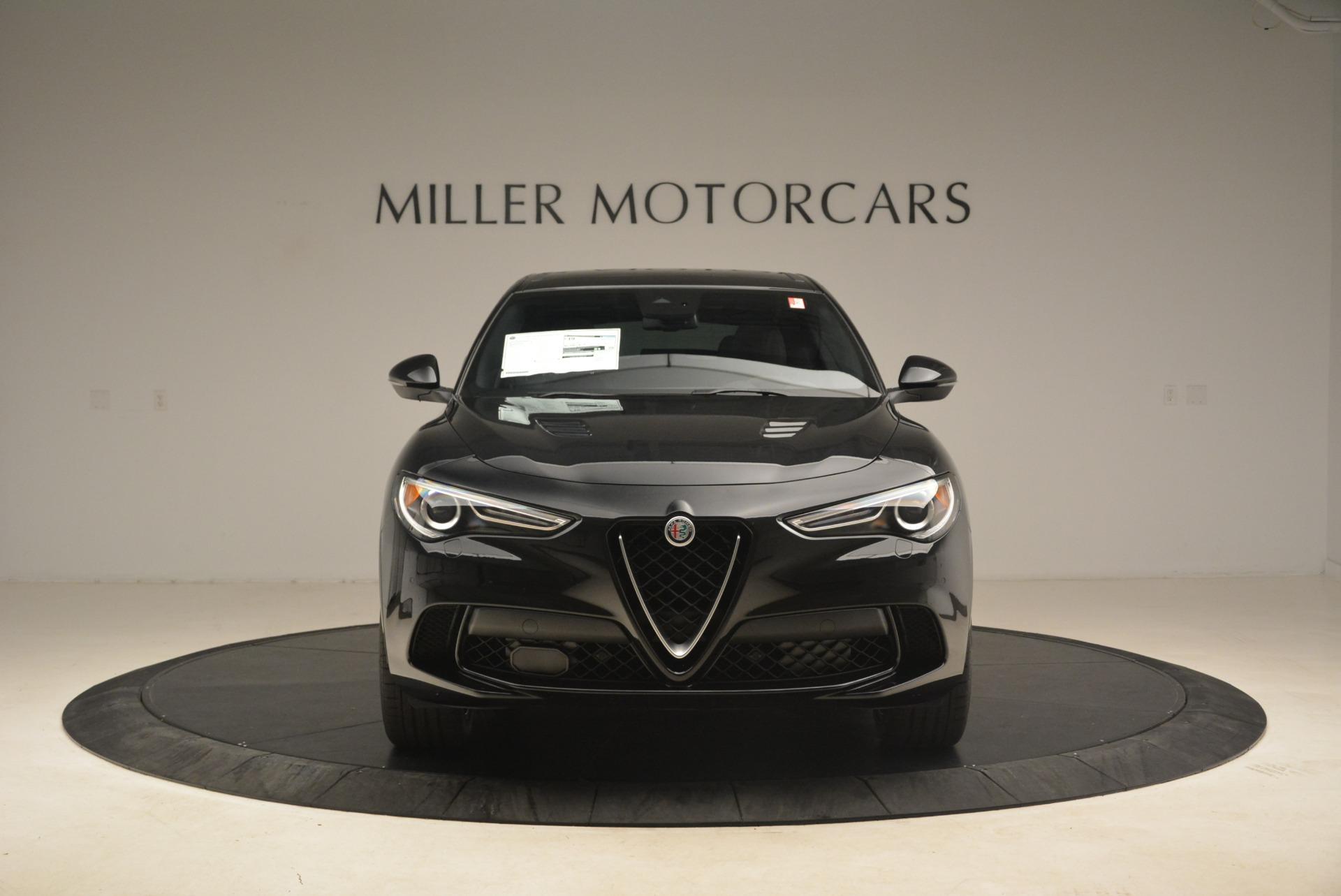 New 2019 Alfa Romeo Stelvio Quadrifoglio For Sale In Greenwich, CT. Alfa Romeo of Greenwich, L609 3096_p12
