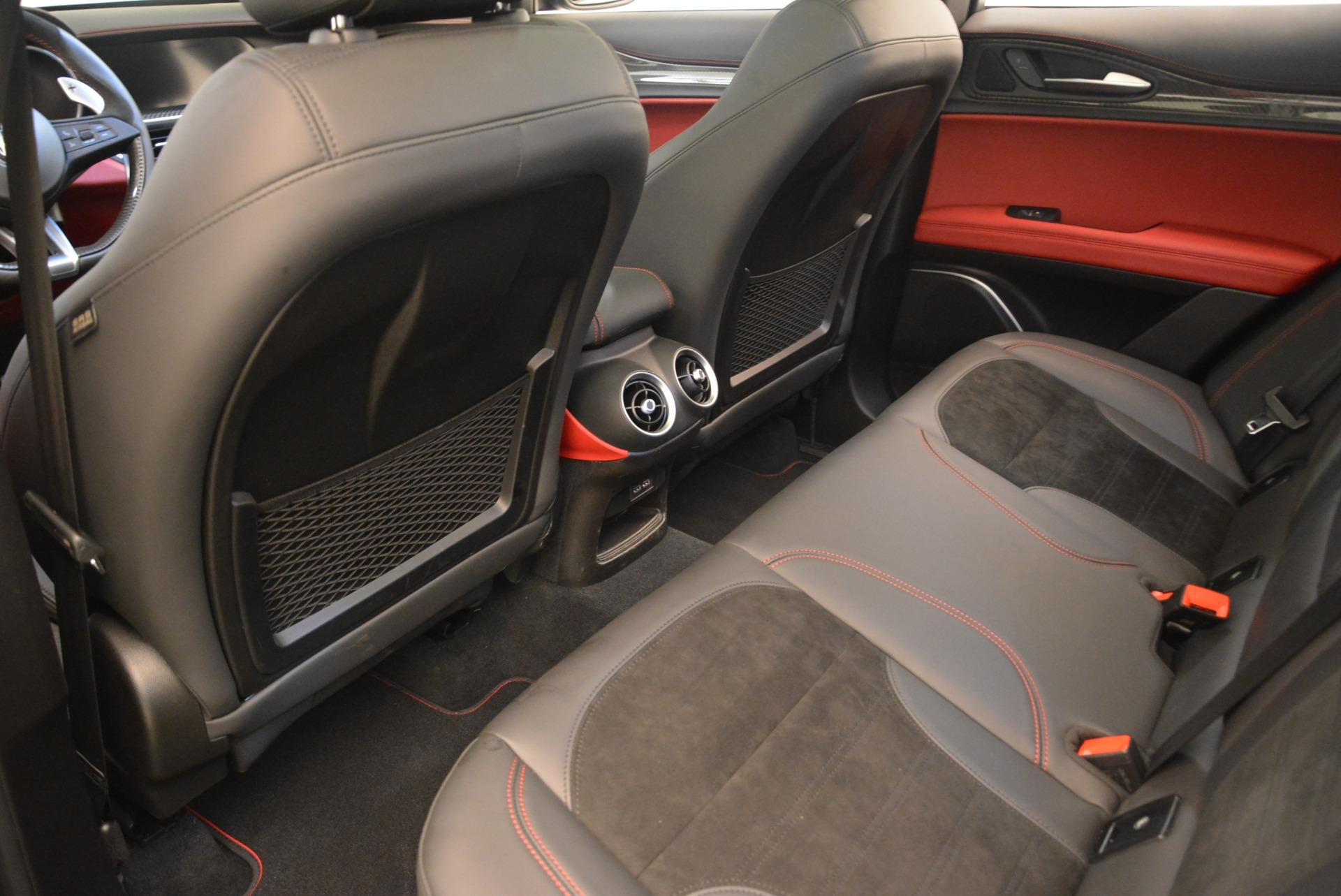 New 2019 Alfa Romeo Stelvio Quadrifoglio For Sale In Greenwich, CT. Alfa Romeo of Greenwich, L609 3096_p16
