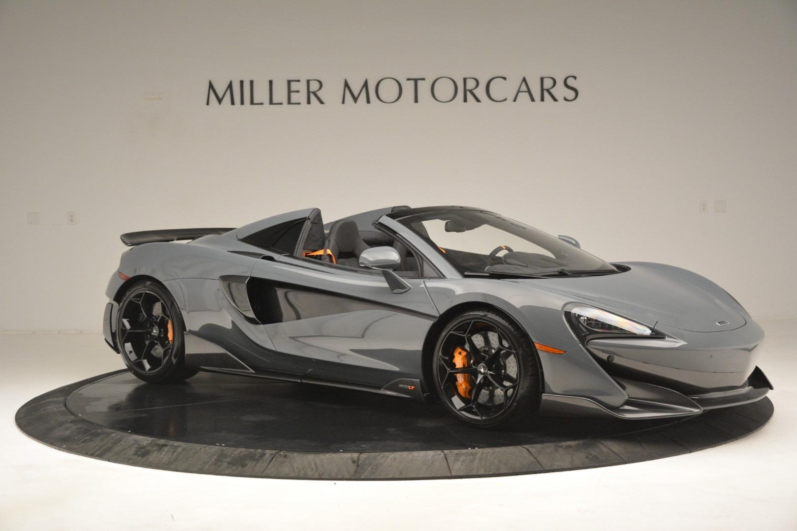 New 2020 McLaren 600LT Spider Convertible For Sale In Greenwich, CT. Alfa Romeo of Greenwich, MC423 3110_p10