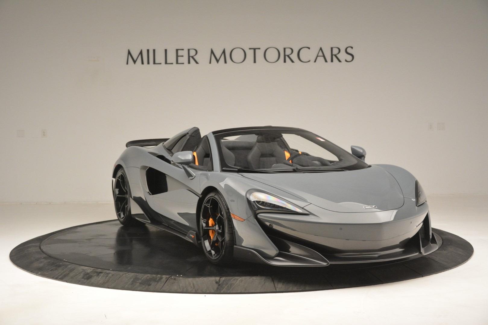 New 2020 McLaren 600LT Spider Convertible For Sale In Greenwich, CT. Alfa Romeo of Greenwich, MC423 3110_p11