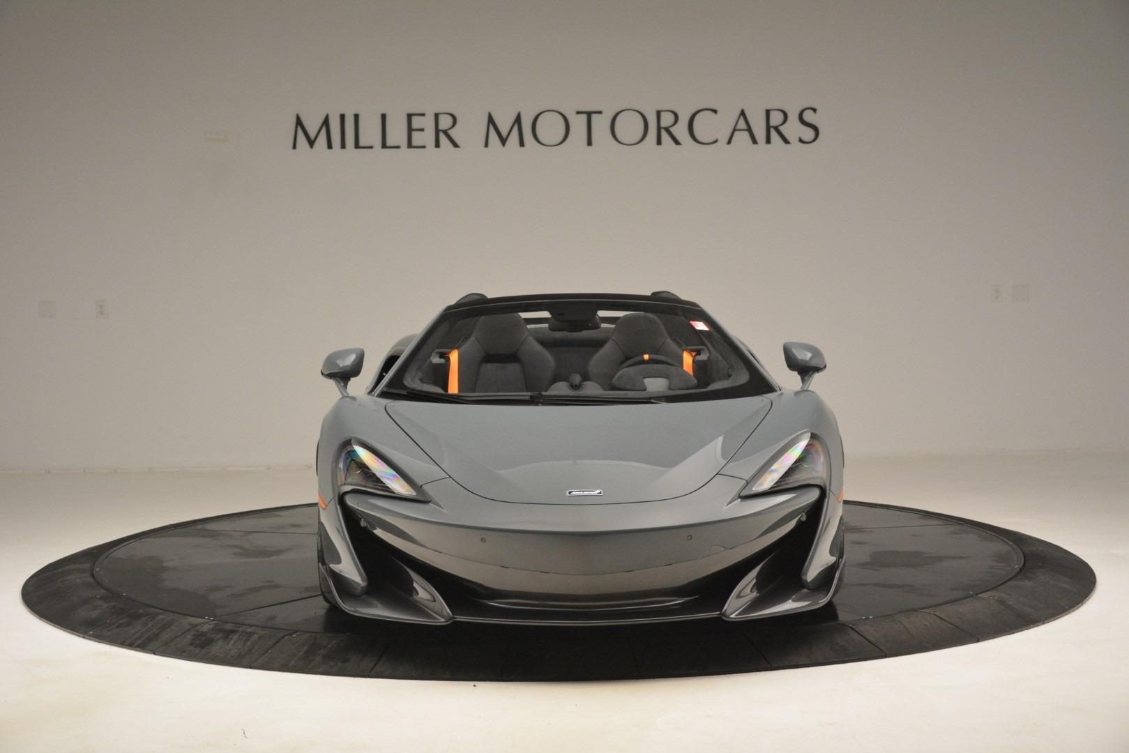 New 2020 McLaren 600LT Spider Convertible For Sale In Greenwich, CT. Alfa Romeo of Greenwich, MC423 3110_p12