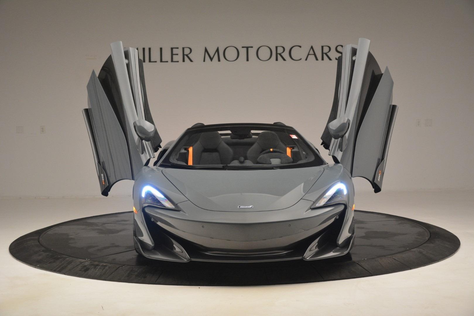 New 2020 McLaren 600LT Spider Convertible For Sale In Greenwich, CT. Alfa Romeo of Greenwich, MC423 3110_p13