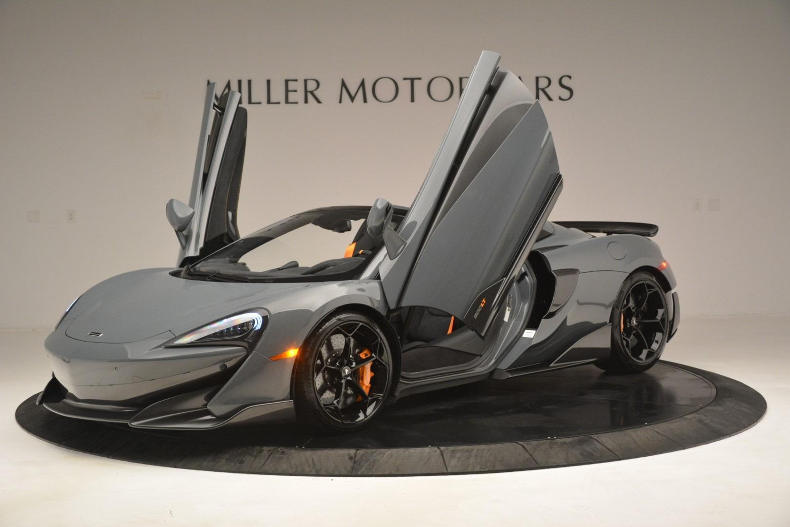 New 2020 McLaren 600LT Spider Convertible For Sale In Greenwich, CT. Alfa Romeo of Greenwich, MC423 3110_p14