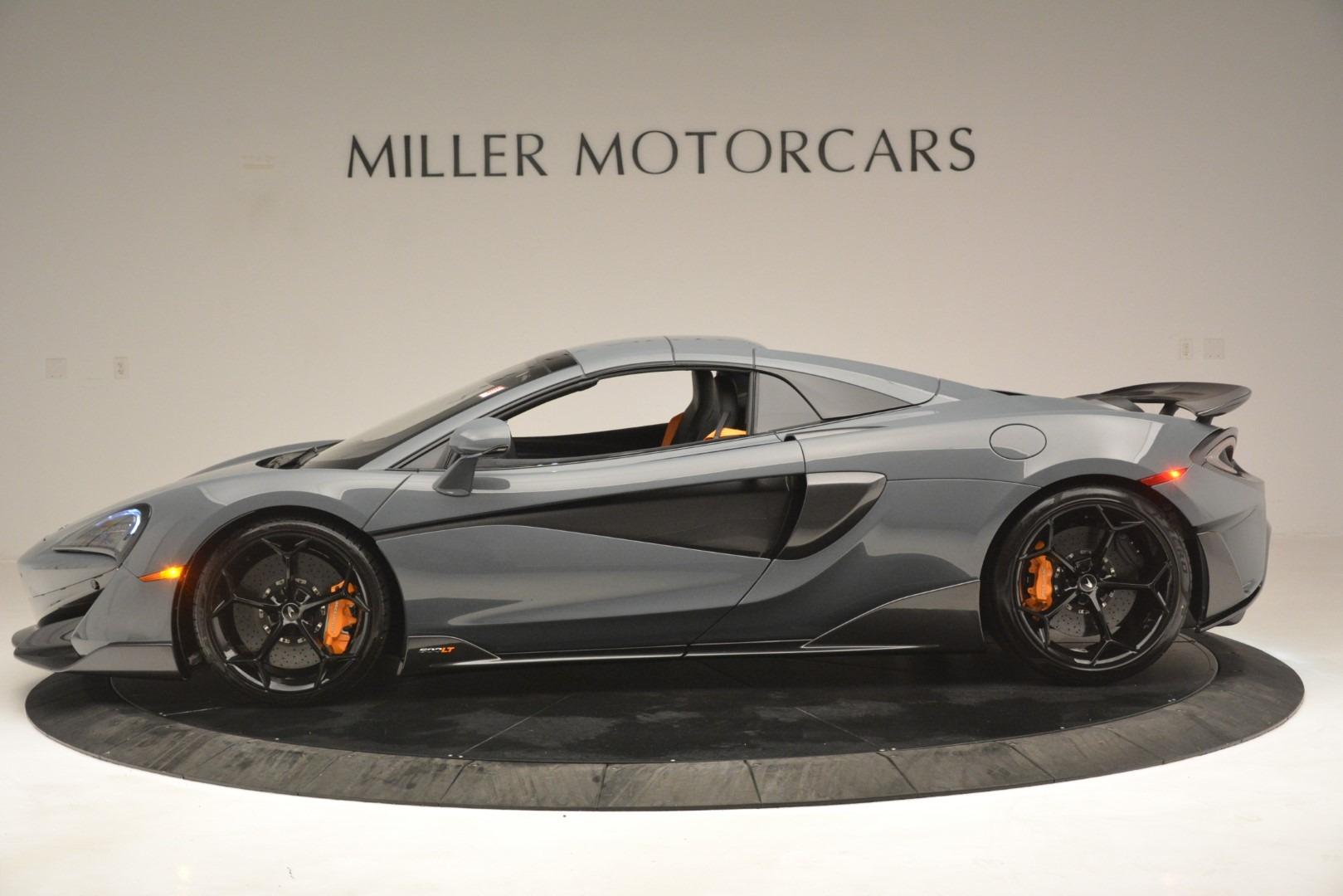 New 2020 McLaren 600LT Spider Convertible For Sale In Greenwich, CT. Alfa Romeo of Greenwich, MC423 3110_p16