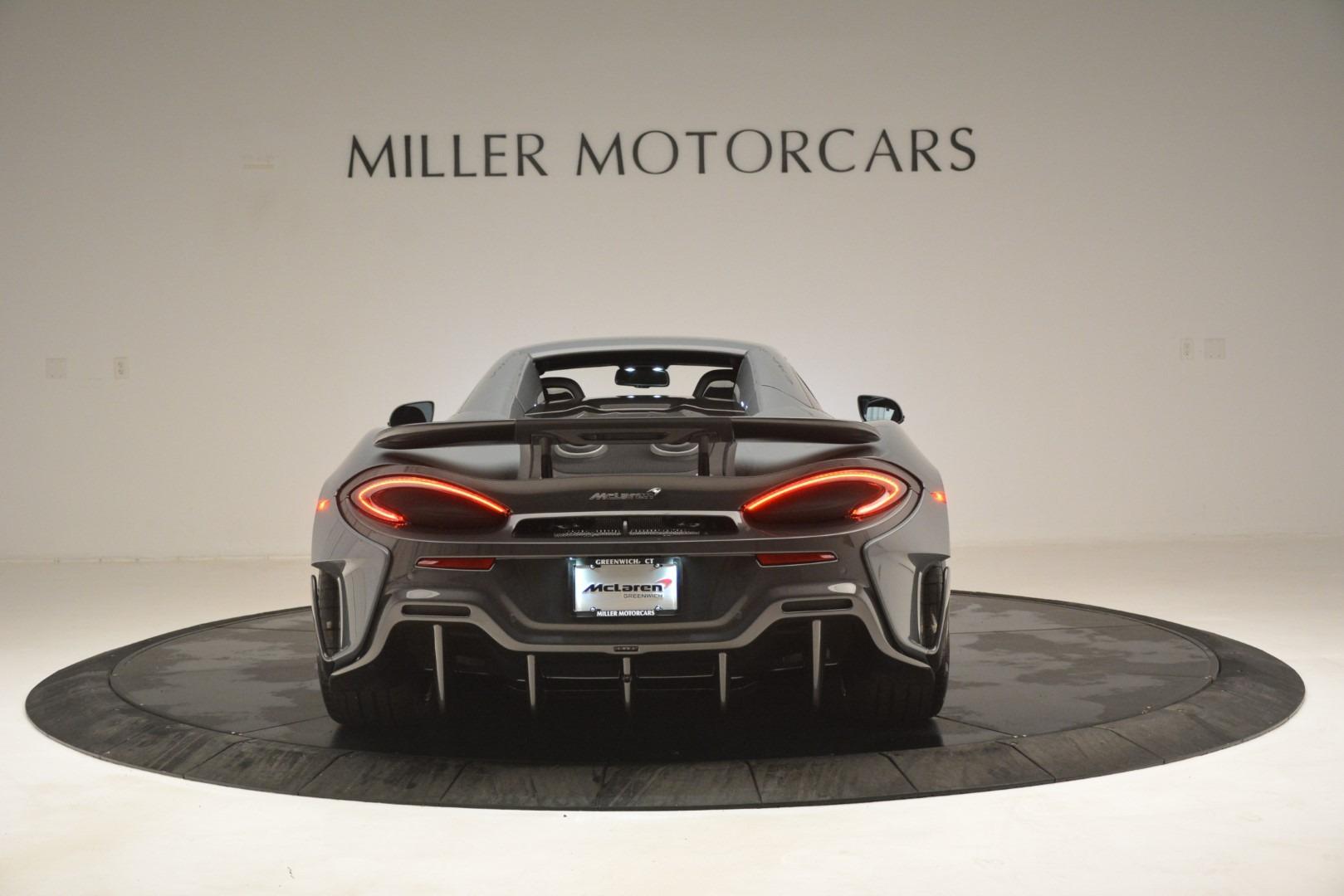 New 2020 McLaren 600LT Spider Convertible For Sale In Greenwich, CT. Alfa Romeo of Greenwich, MC423 3110_p18