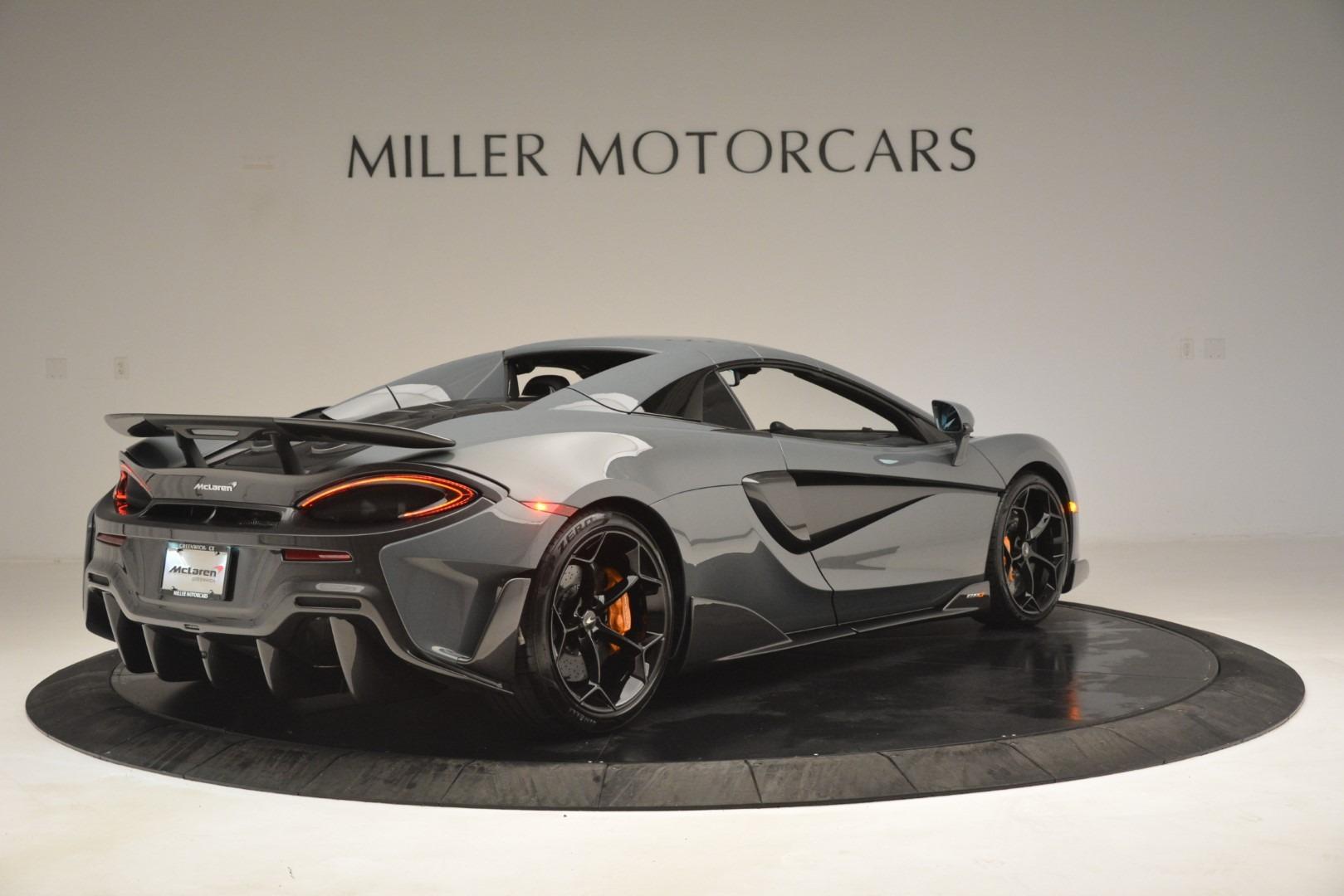 New 2020 McLaren 600LT Spider Convertible For Sale In Greenwich, CT. Alfa Romeo of Greenwich, MC423 3110_p19