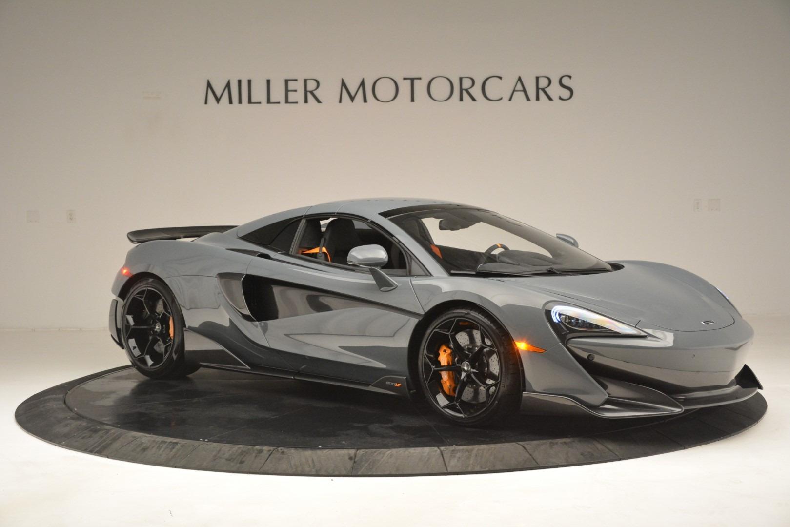 New 2020 McLaren 600LT Spider Convertible For Sale In Greenwich, CT. Alfa Romeo of Greenwich, MC423 3110_p21
