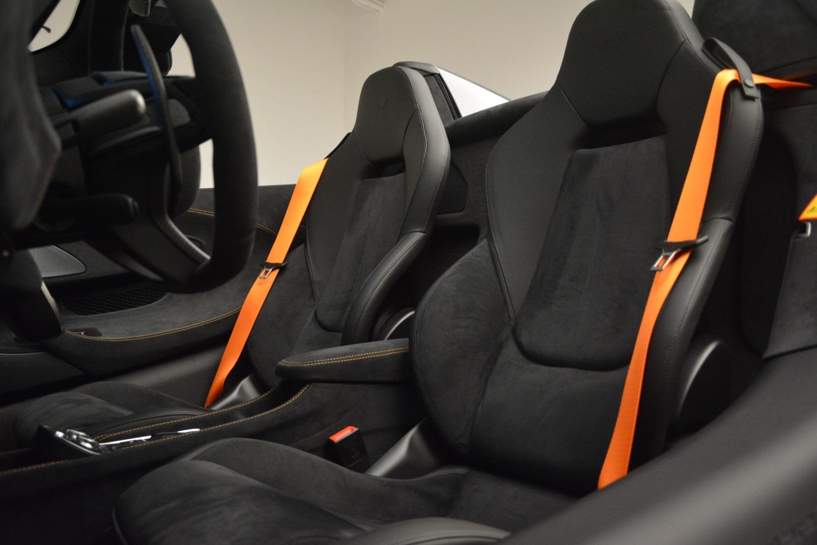 New 2020 McLaren 600LT Spider Convertible For Sale In Greenwich, CT. Alfa Romeo of Greenwich, MC423 3110_p26