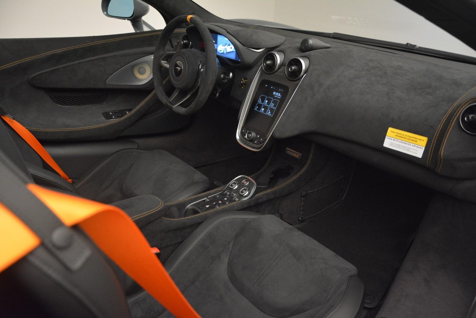 New 2020 McLaren 600LT Spider Convertible For Sale In Greenwich, CT. Alfa Romeo of Greenwich, MC423 3110_p27