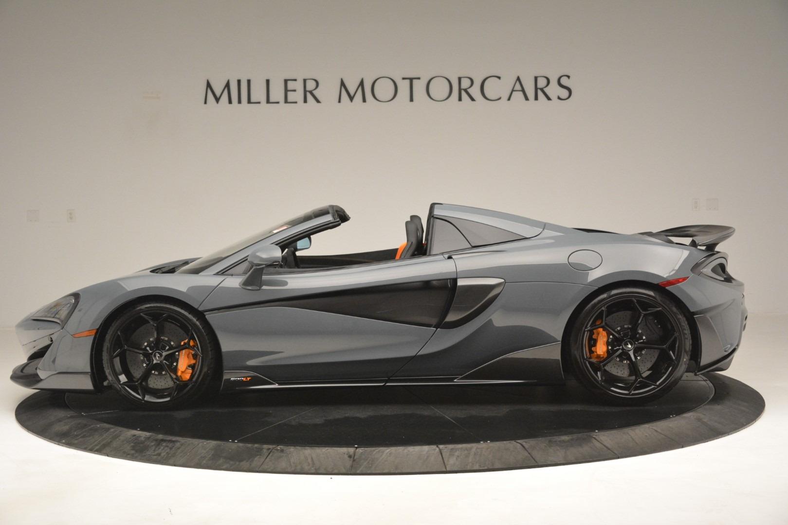 New 2020 McLaren 600LT Spider Convertible For Sale In Greenwich, CT. Alfa Romeo of Greenwich, MC423 3110_p3
