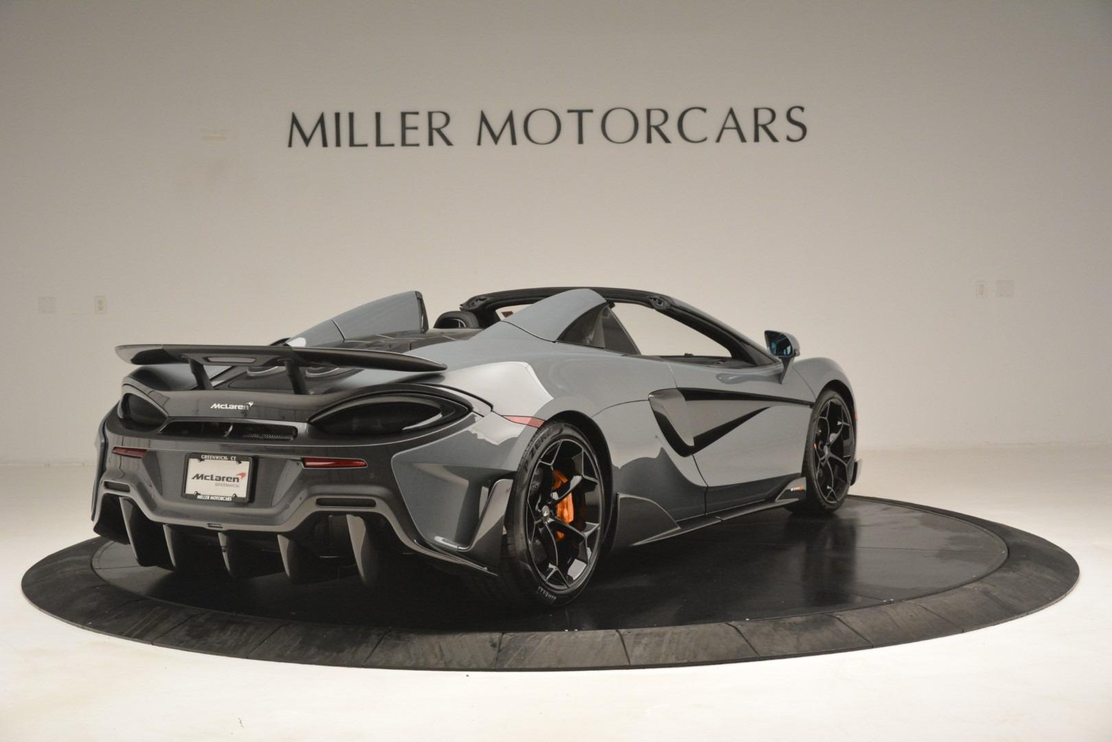 New 2020 McLaren 600LT Spider Convertible For Sale In Greenwich, CT. Alfa Romeo of Greenwich, MC423 3110_p7